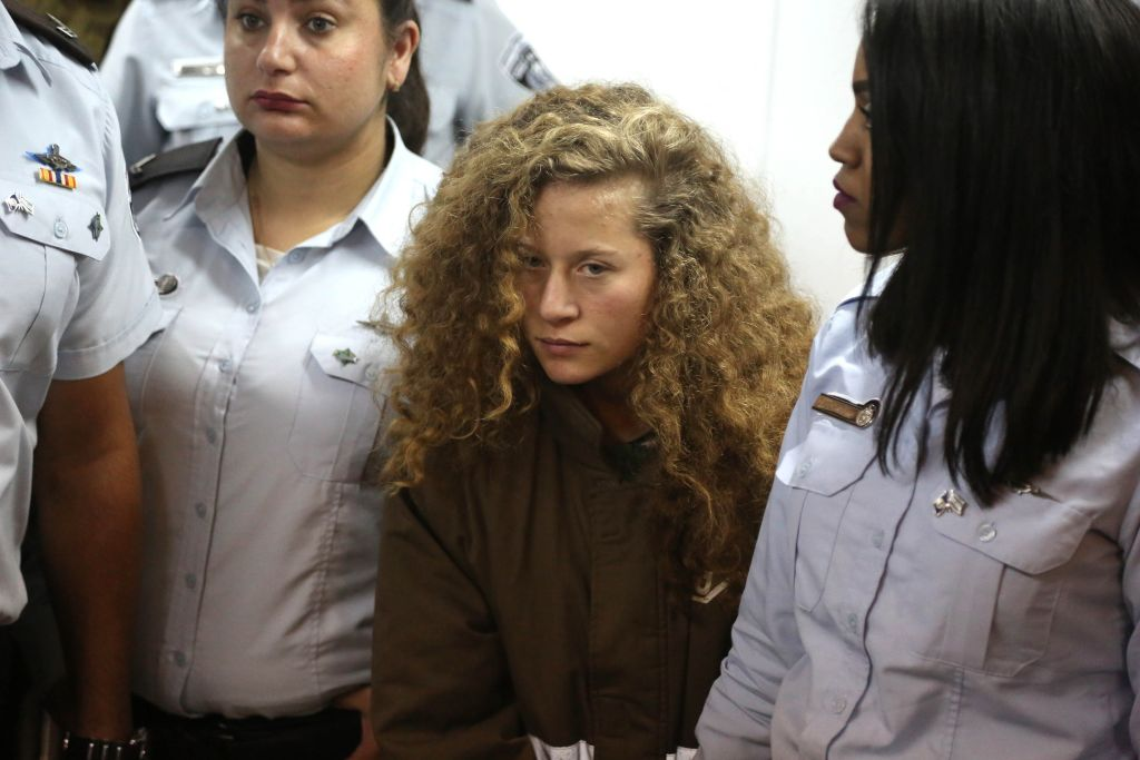 Palestinian Ahed al-Tamimi's family appear in Court