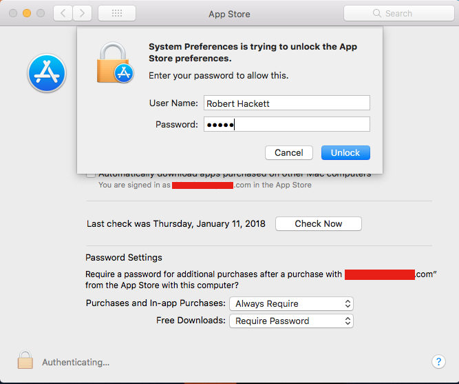 Apple MacOS High Sierra Faces Another Password Login Bug