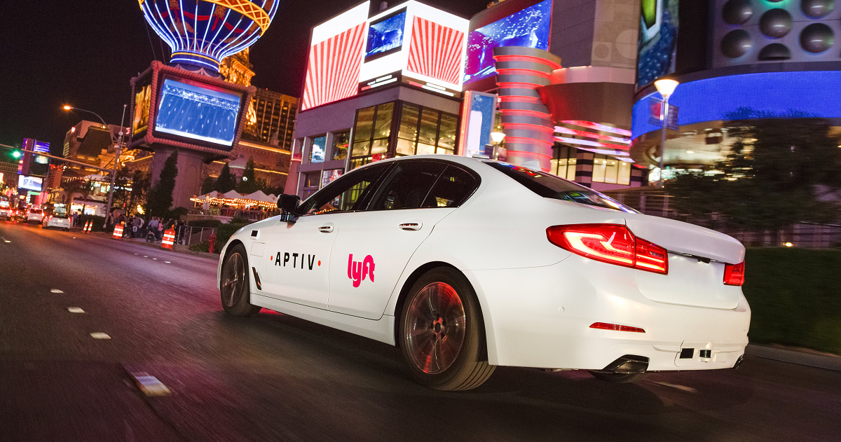 Lyft and Aptiv are extending a pilot of their self-driving taxi service in Las Vegas.