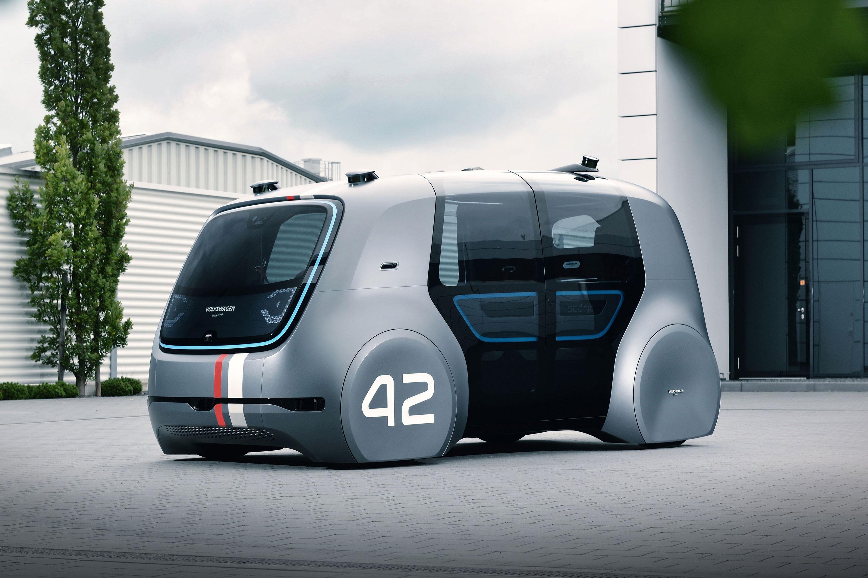 Sedric, Volkswagen's fully autonomous concept car.