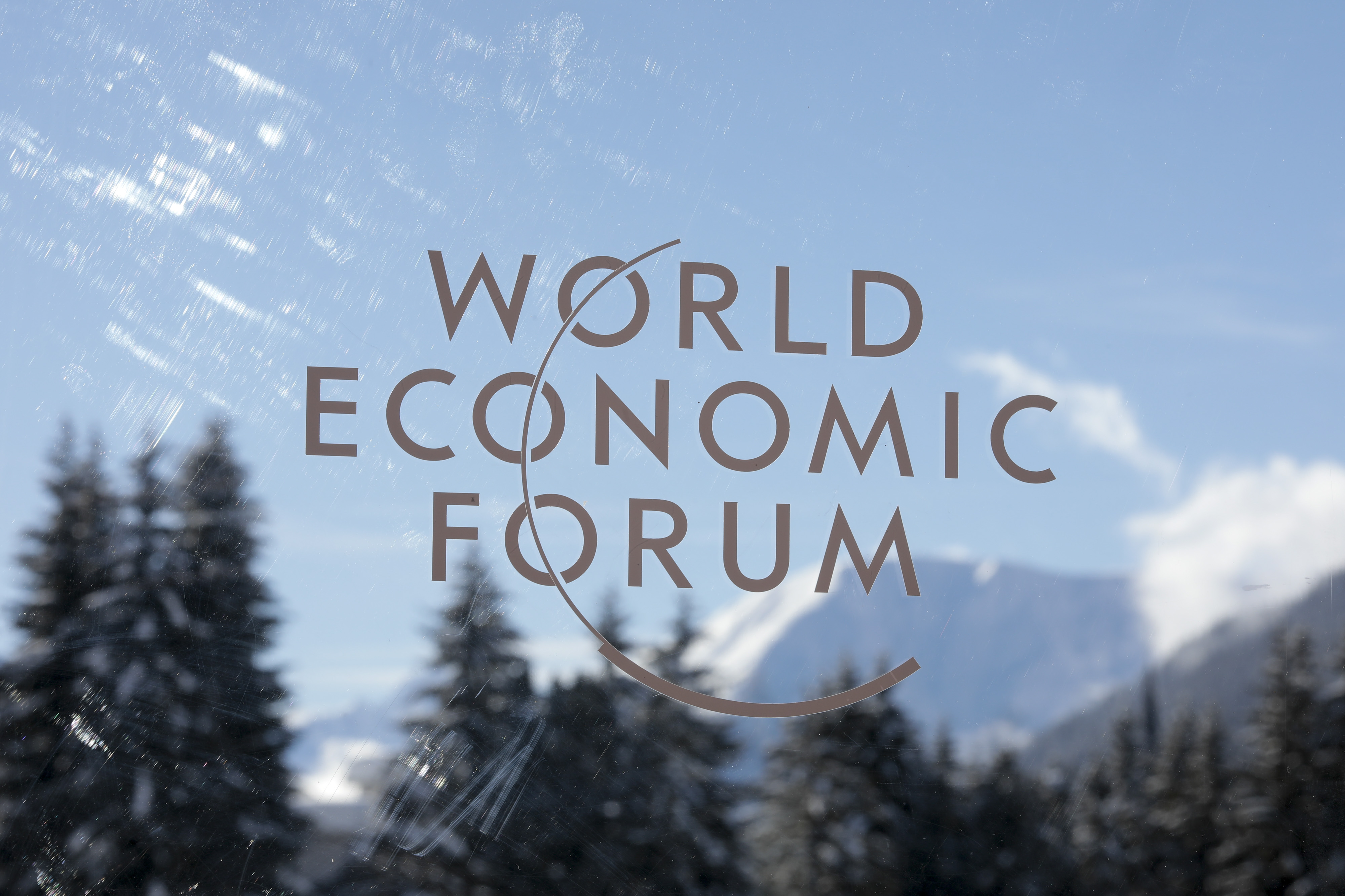 Opening Day Of The World Economic Forum (WEF) 2018