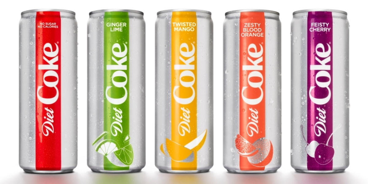 New Diet Coke Flavors Will Include a New Ingredient