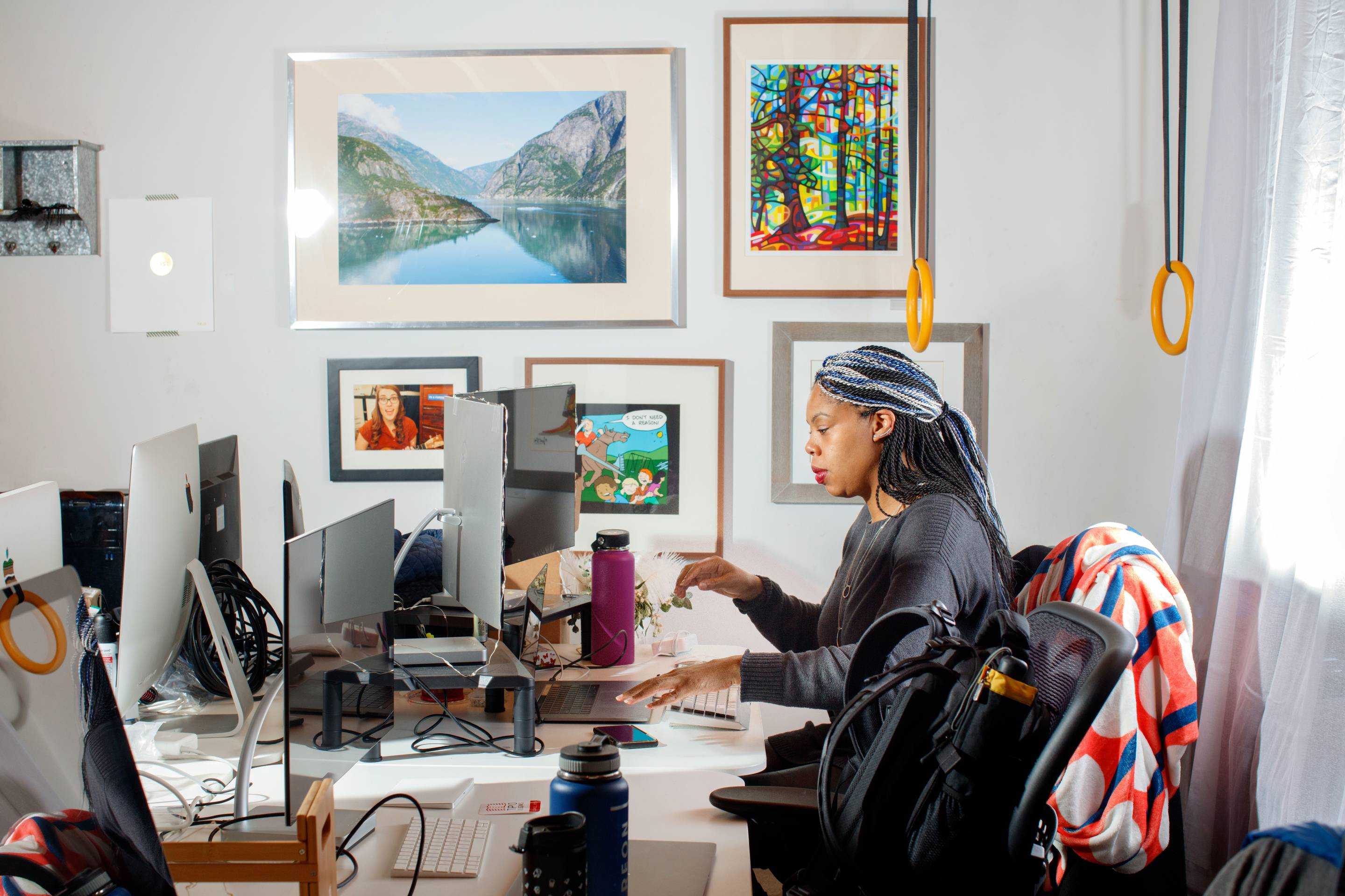 Snubbed by a computer science professor at her dream school, Erica Joy Baker fought her way back to top engineering jobs in Silicon Valley.