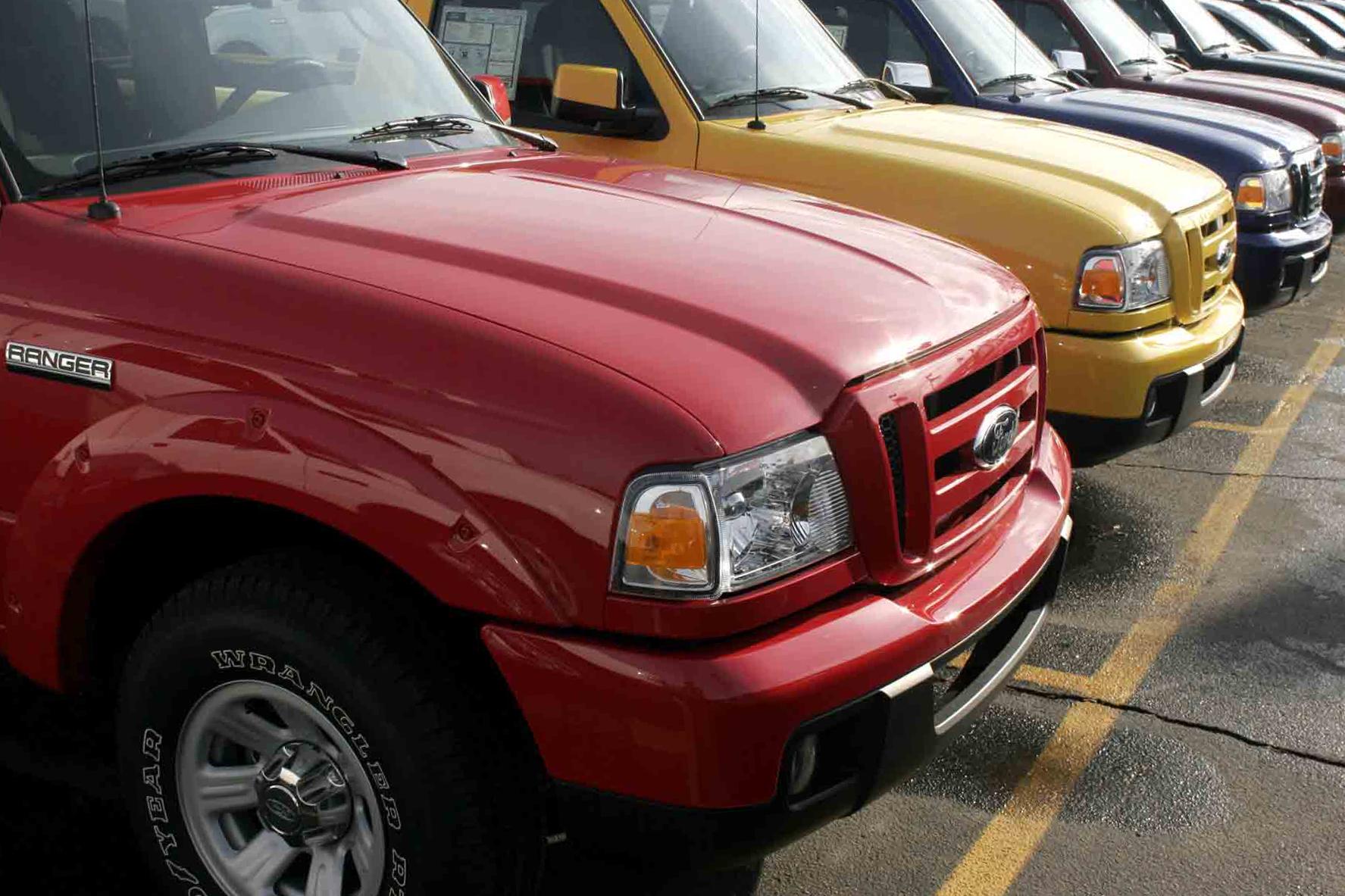 Ford Ranger pickup trucks