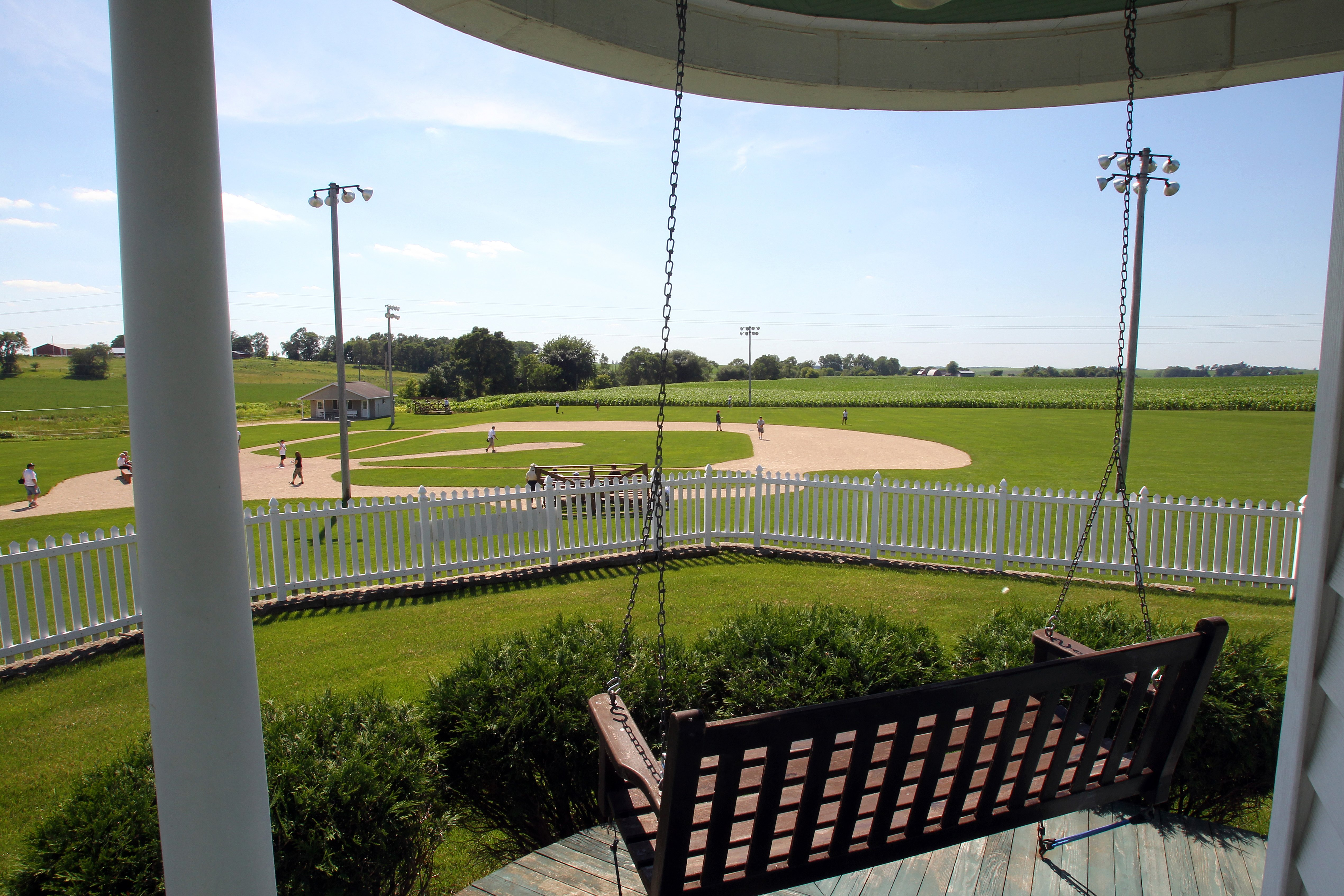 The House Where The Movie Field Of Dreams Was Filmed