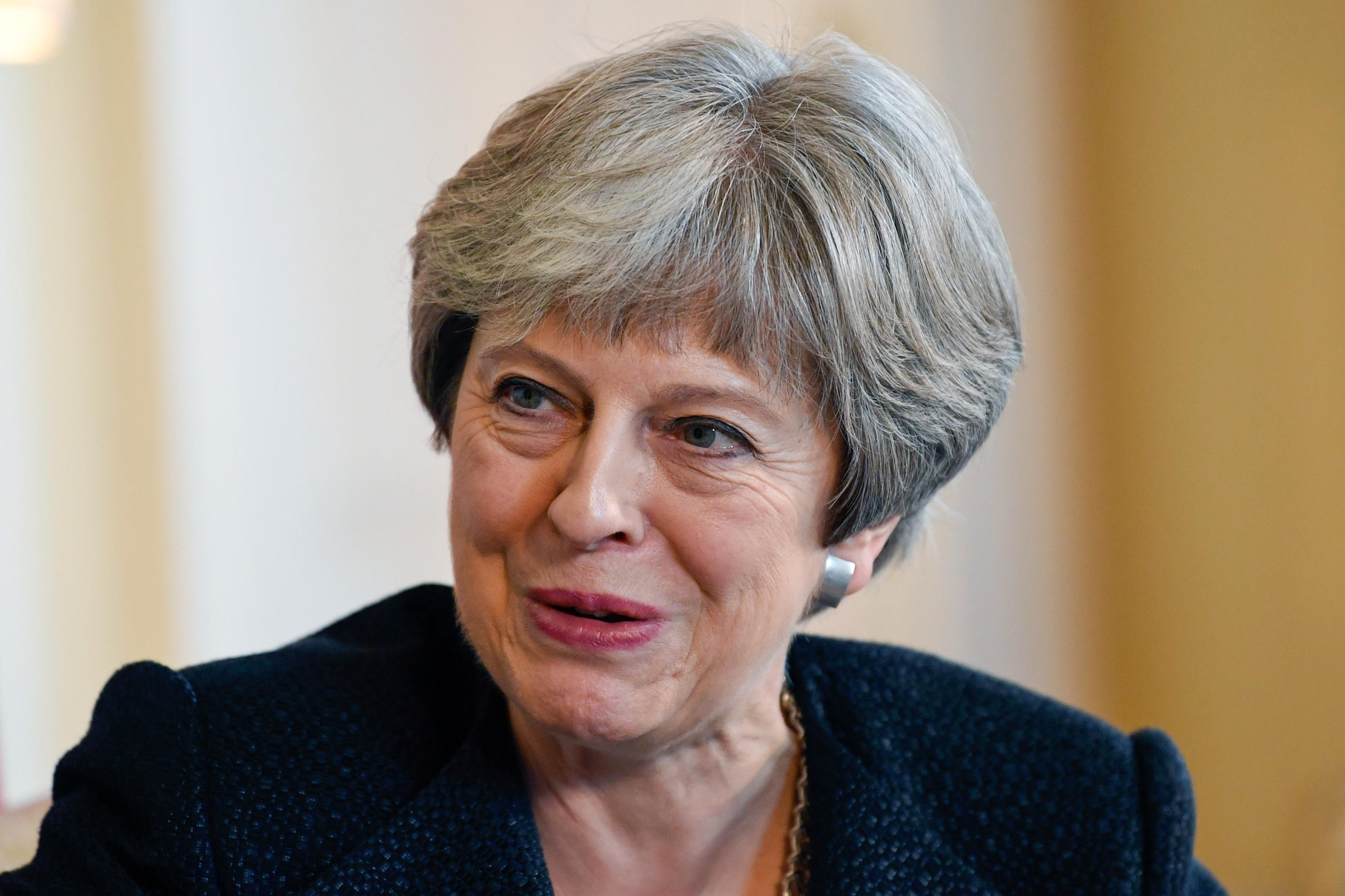 U.K. Prime Minister Theresa May Hosts Estonia's Prime Minister Juri Ratas