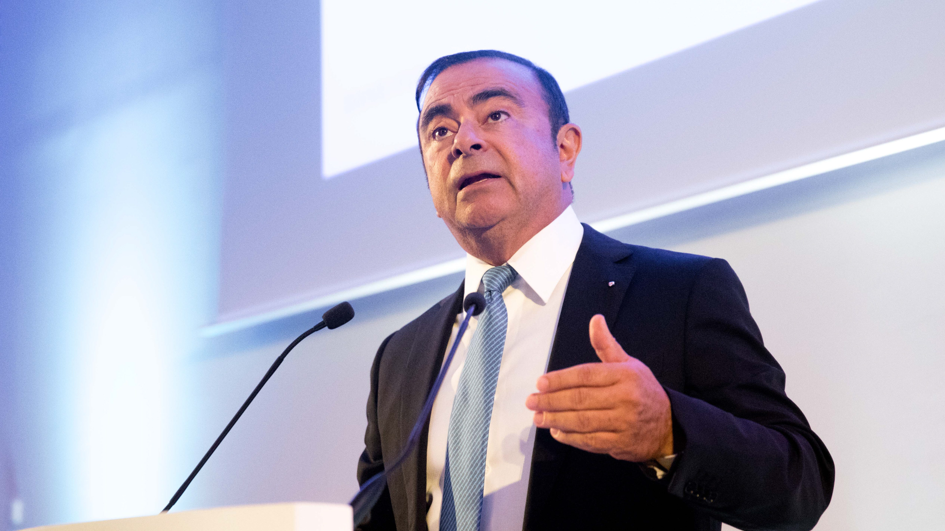 Carlos Ghosn, Chairman & CEO of the Renault–Nissan–Mitsubishi Alliance