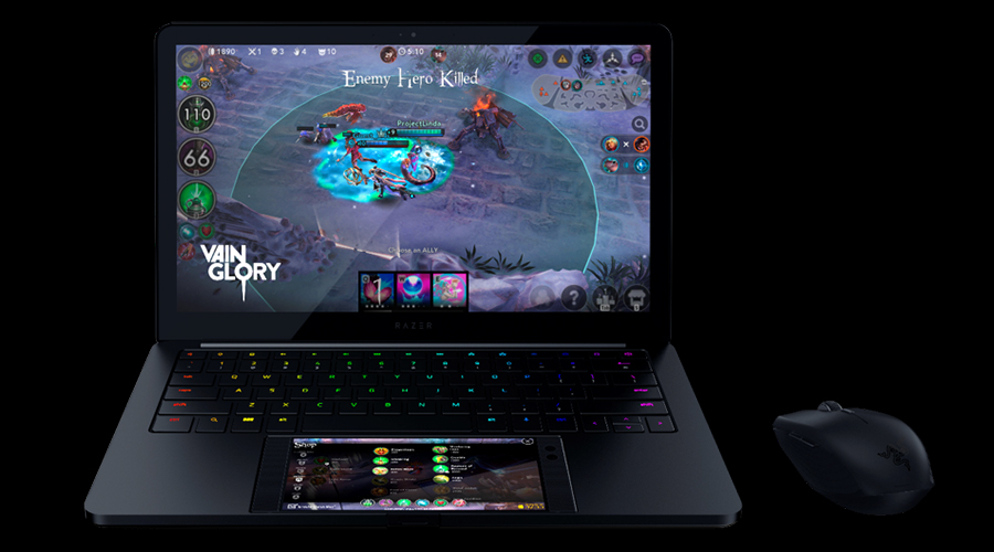 Razer's laptop-smartphone hybrid system called Project Linda.