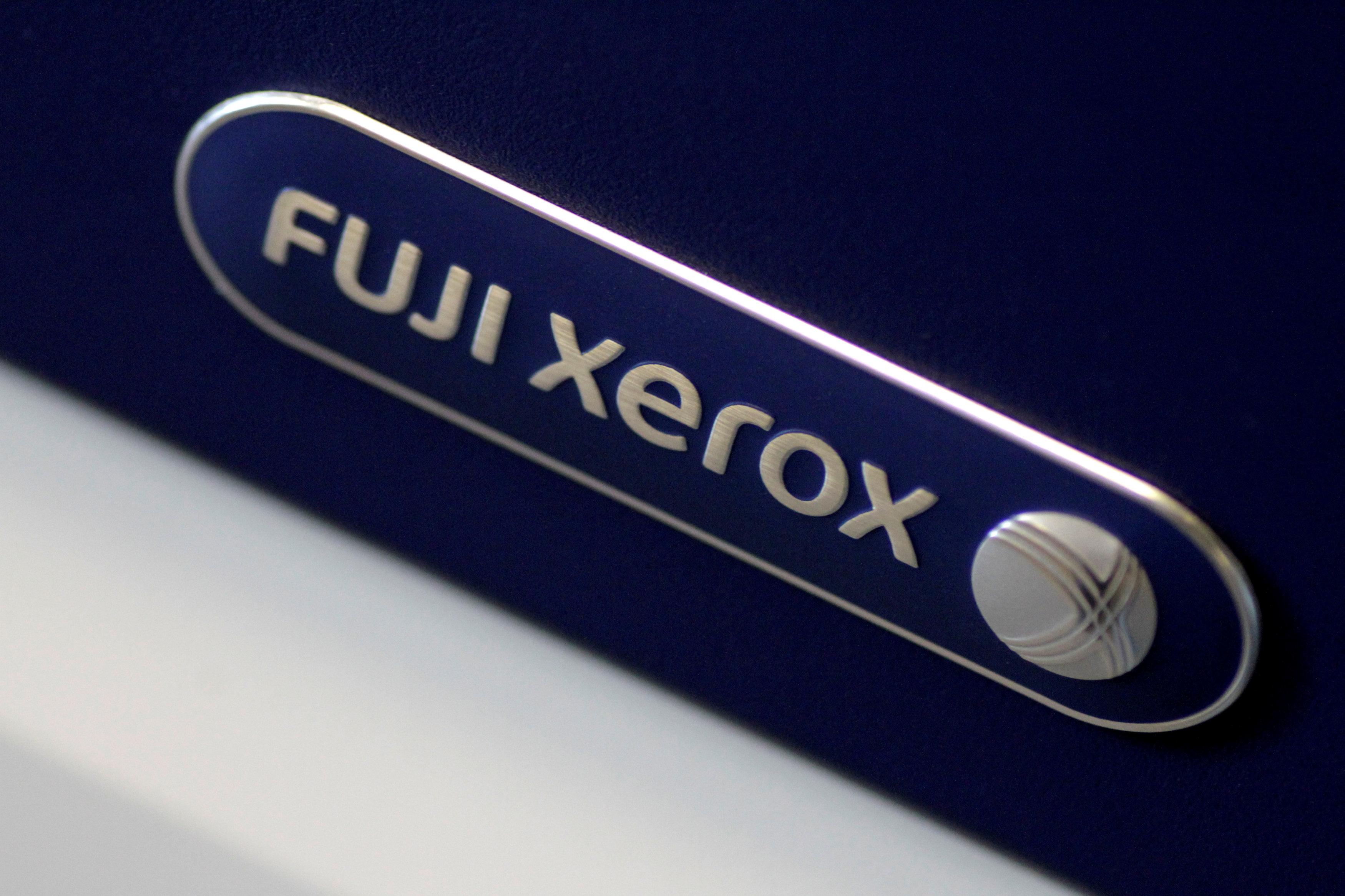 FILE PHOTO: Illustration photo of the Fuji Xerox logo