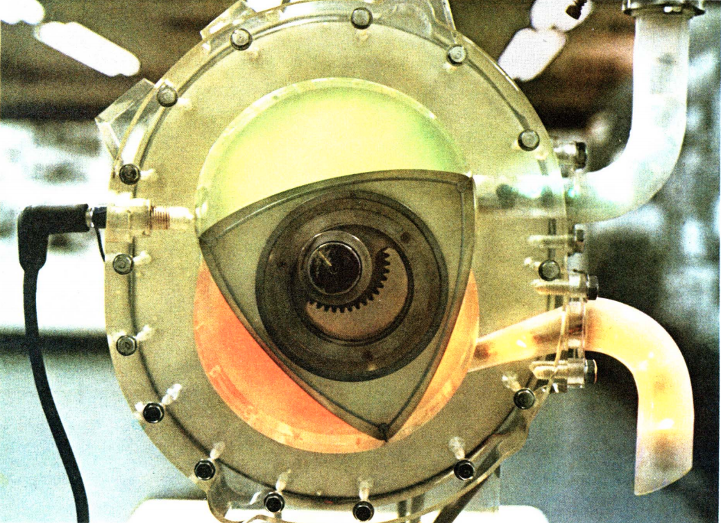 rotary engine from July 1972 issue of Fortune magazine