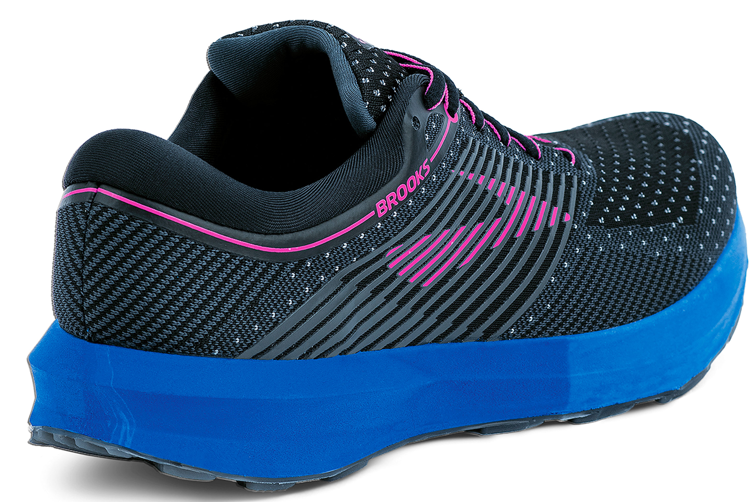 Brooks Levitate running shoe with customized sole.