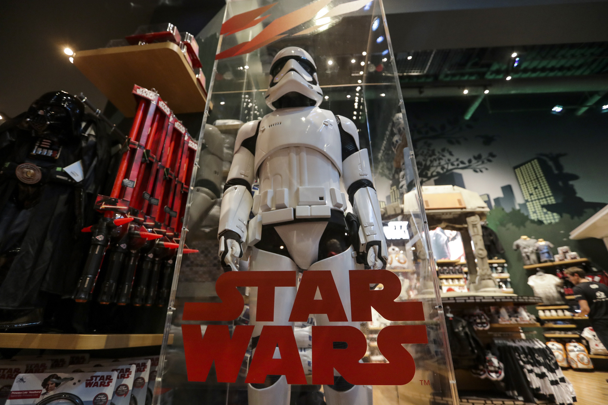 """Inside The """"Star Wars:The Last Jedi"""" Event And Product Debut At The Walt Disney Co. Store"""
