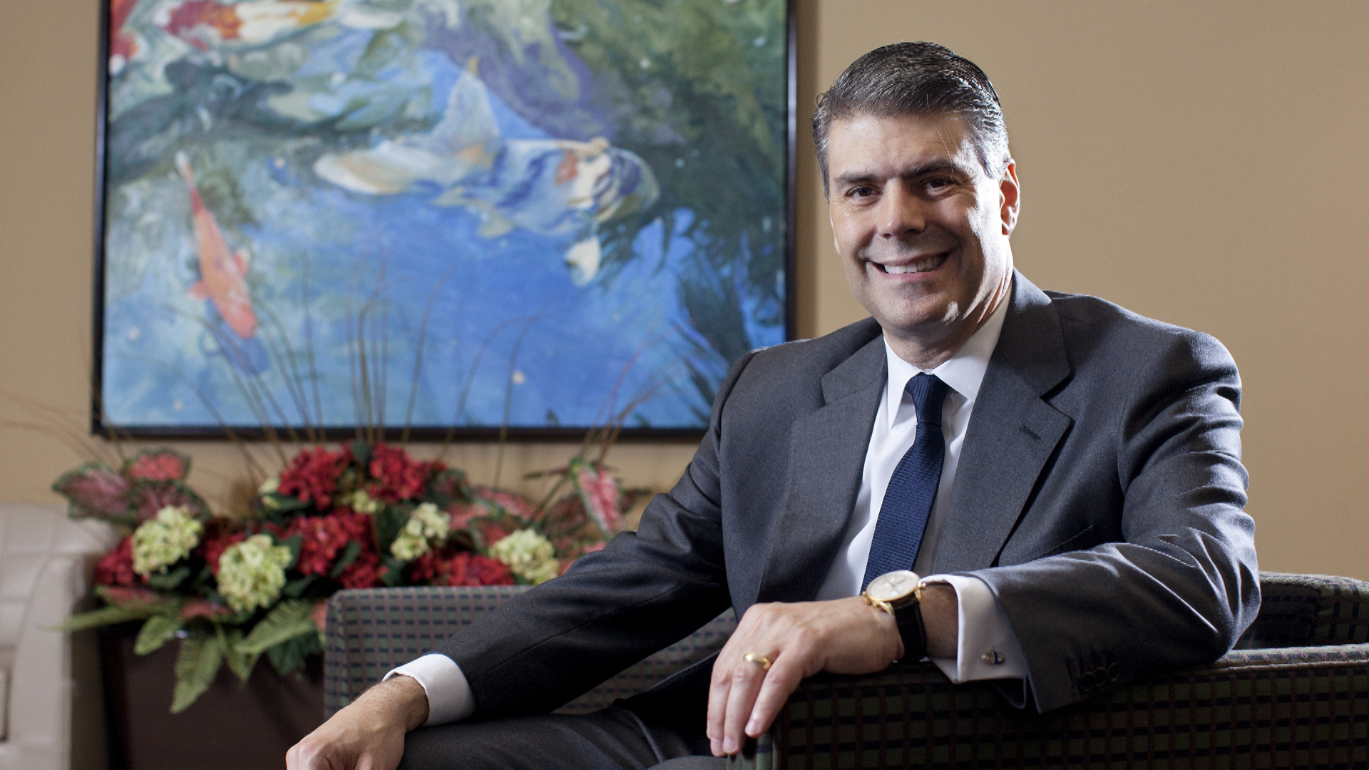Jose Almeida, CEO of Baxter International