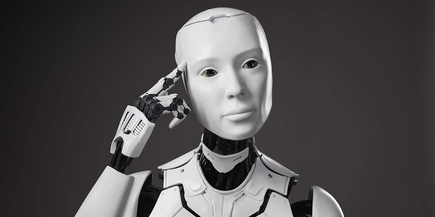 Sprint featured a talking robot named Evelyn in its Super Bowl commercial.