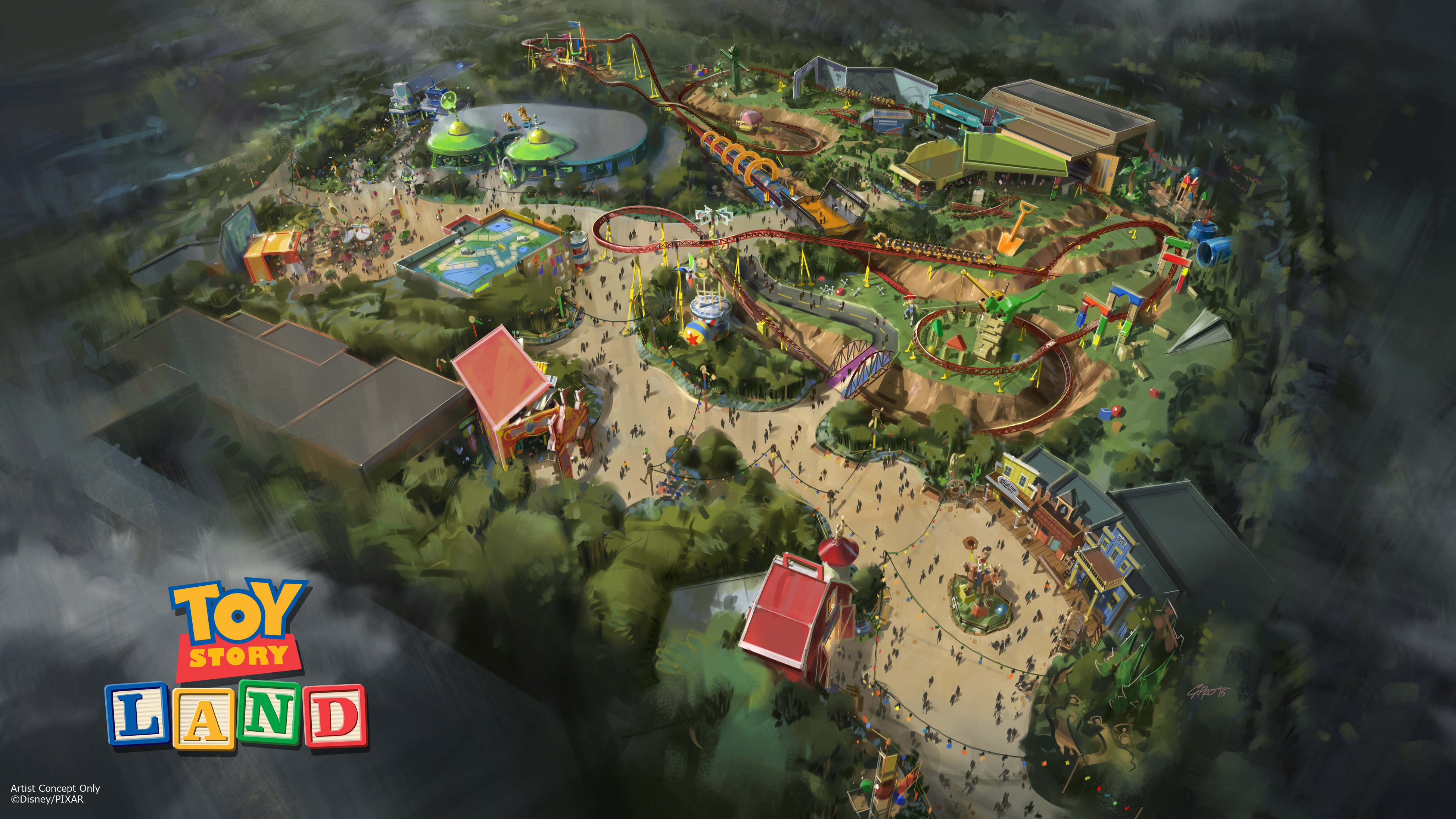 Toy Story Land Disney Park