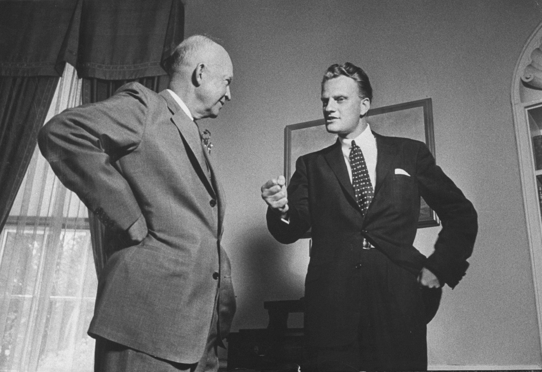 Billy Graham;Dwight D. Eisenhower