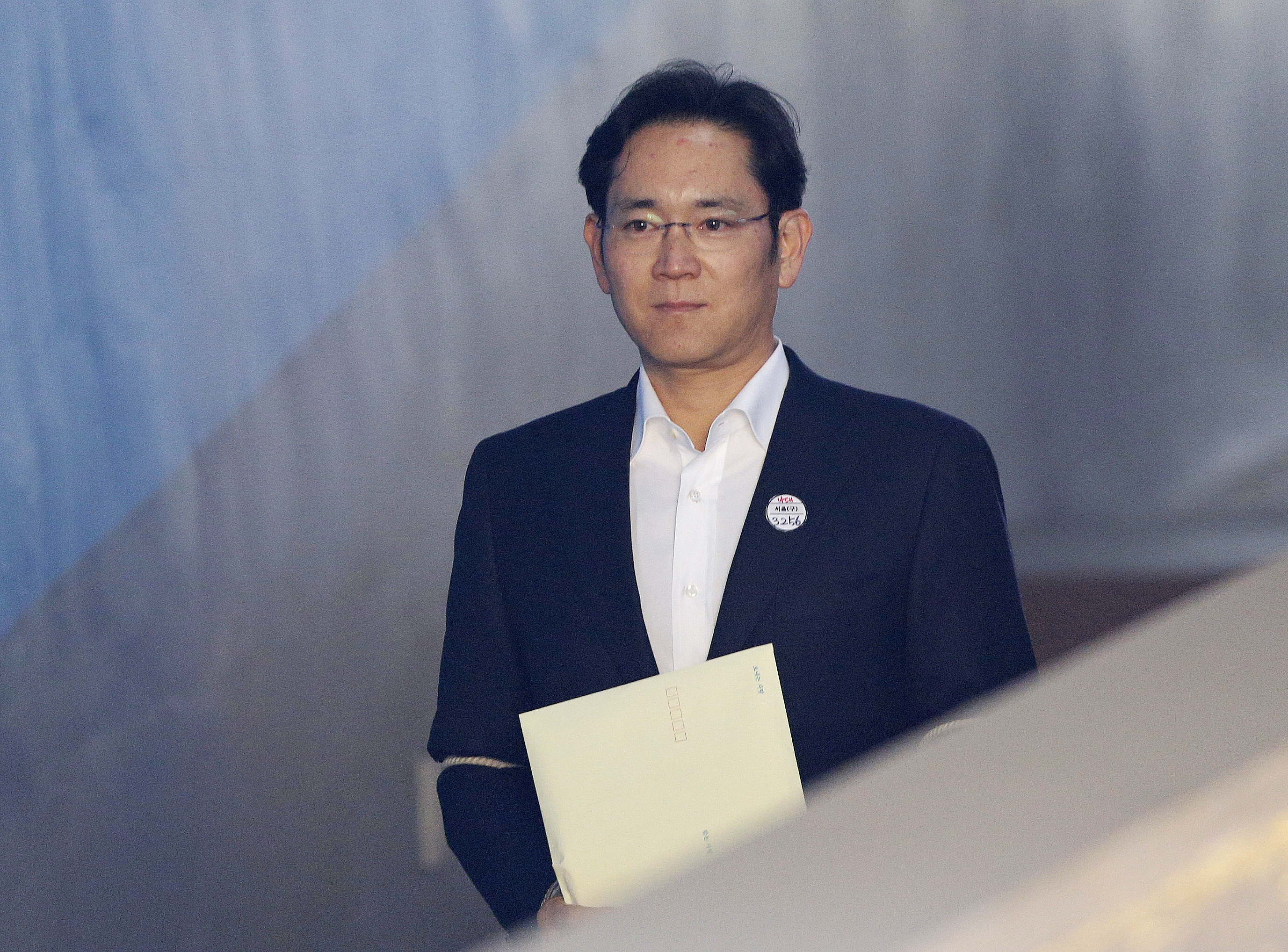 Samsung Heir Jay Y. Lee Appears At Court For Appeal Ruling