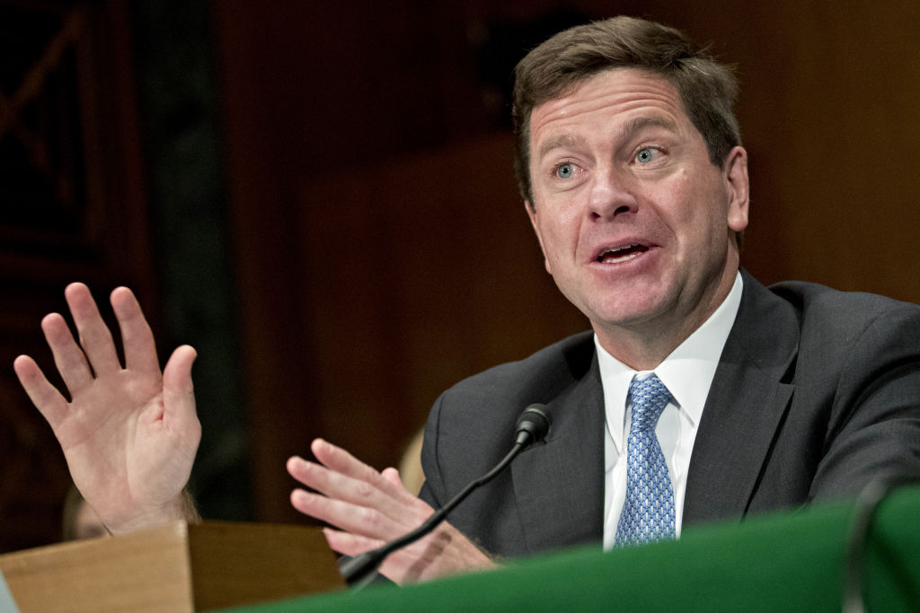 SEC Chairman Clayton And CFTC Chairman Giancarlo Testify On Virtual Currencies To Senate Banking Committee