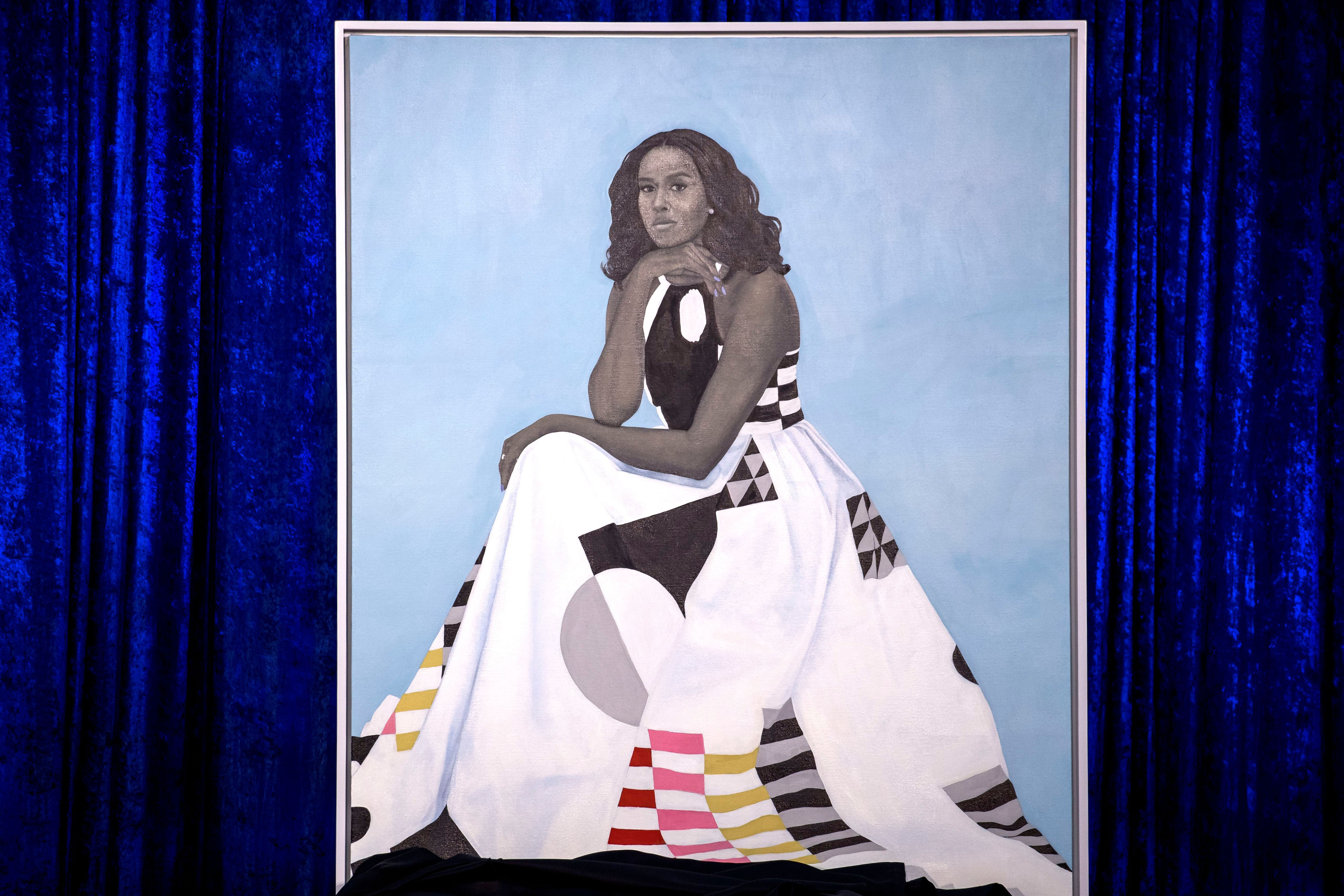 michelle-obama-national-gallery-portrait