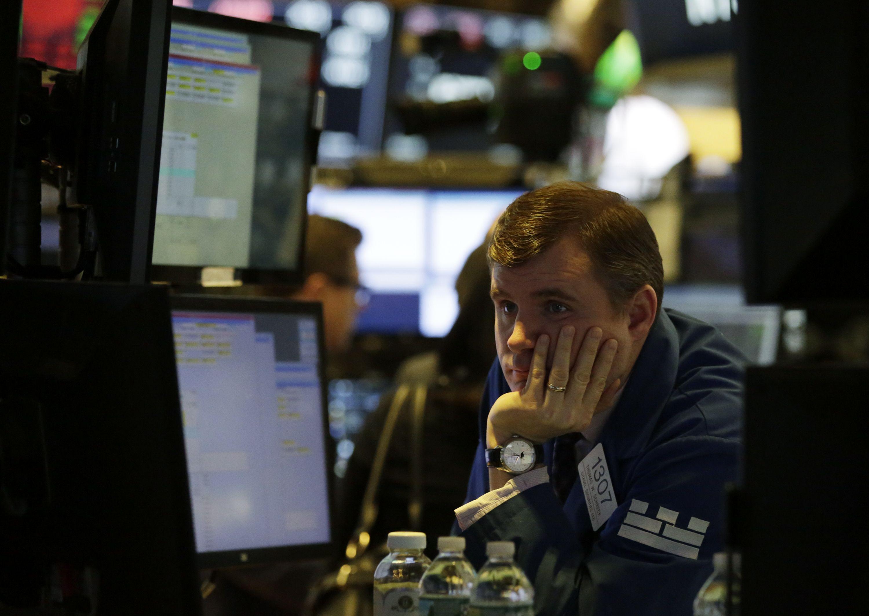 New York Stock Exchange, USA - 05 Feb 2018
