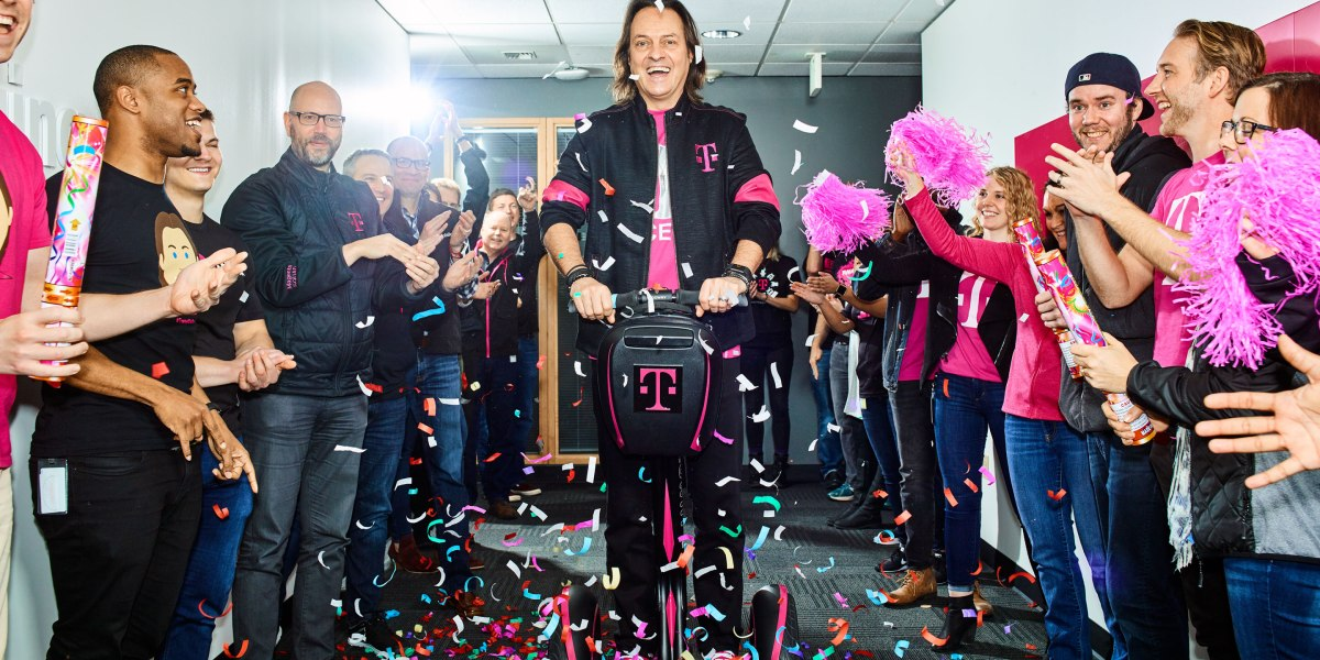 John Legere is one of the best tech CEOs of all time