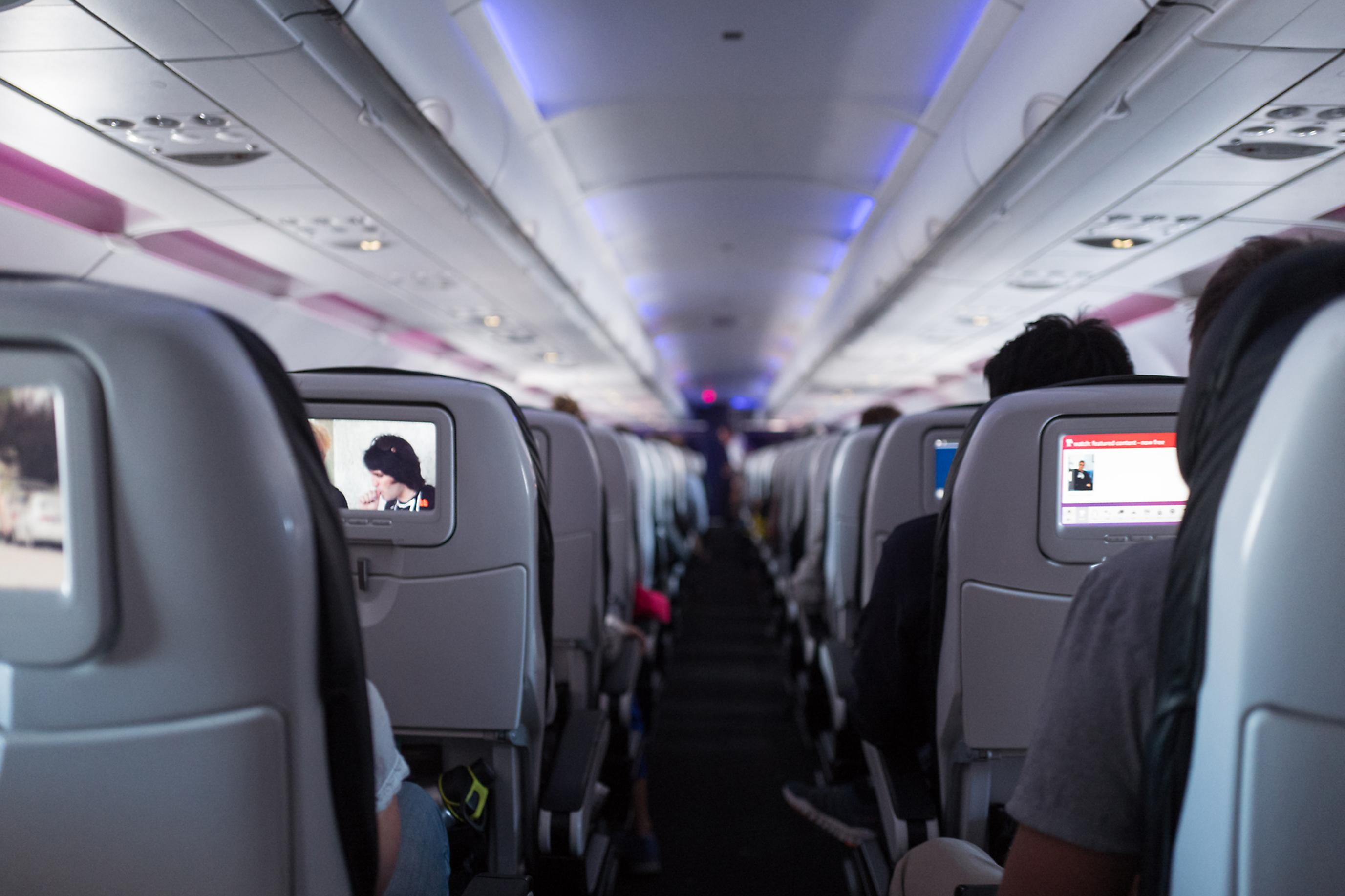 Virgin America Aircraft Plane Seats