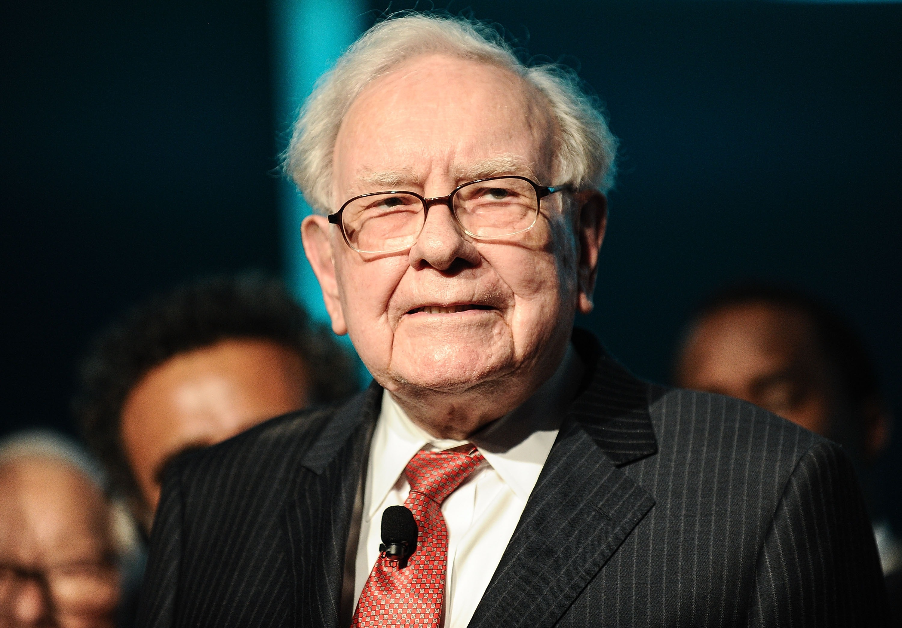 Warren Buffett at the Forbes Media Centennial Celebration