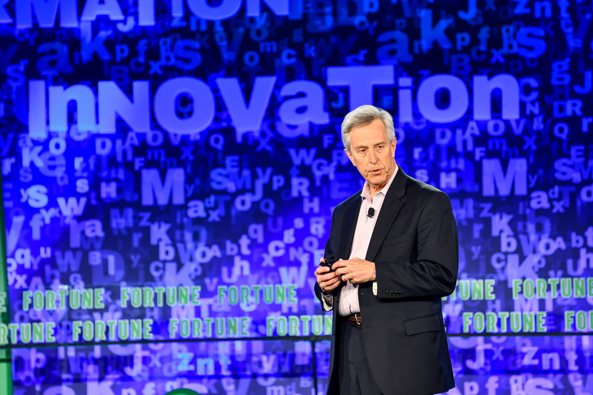 Bruce Gellin of the Sabin Vaccine Institute speaking at the 2018 Fortune Brainstorm Health conference in Laguna Niguel, Calif.