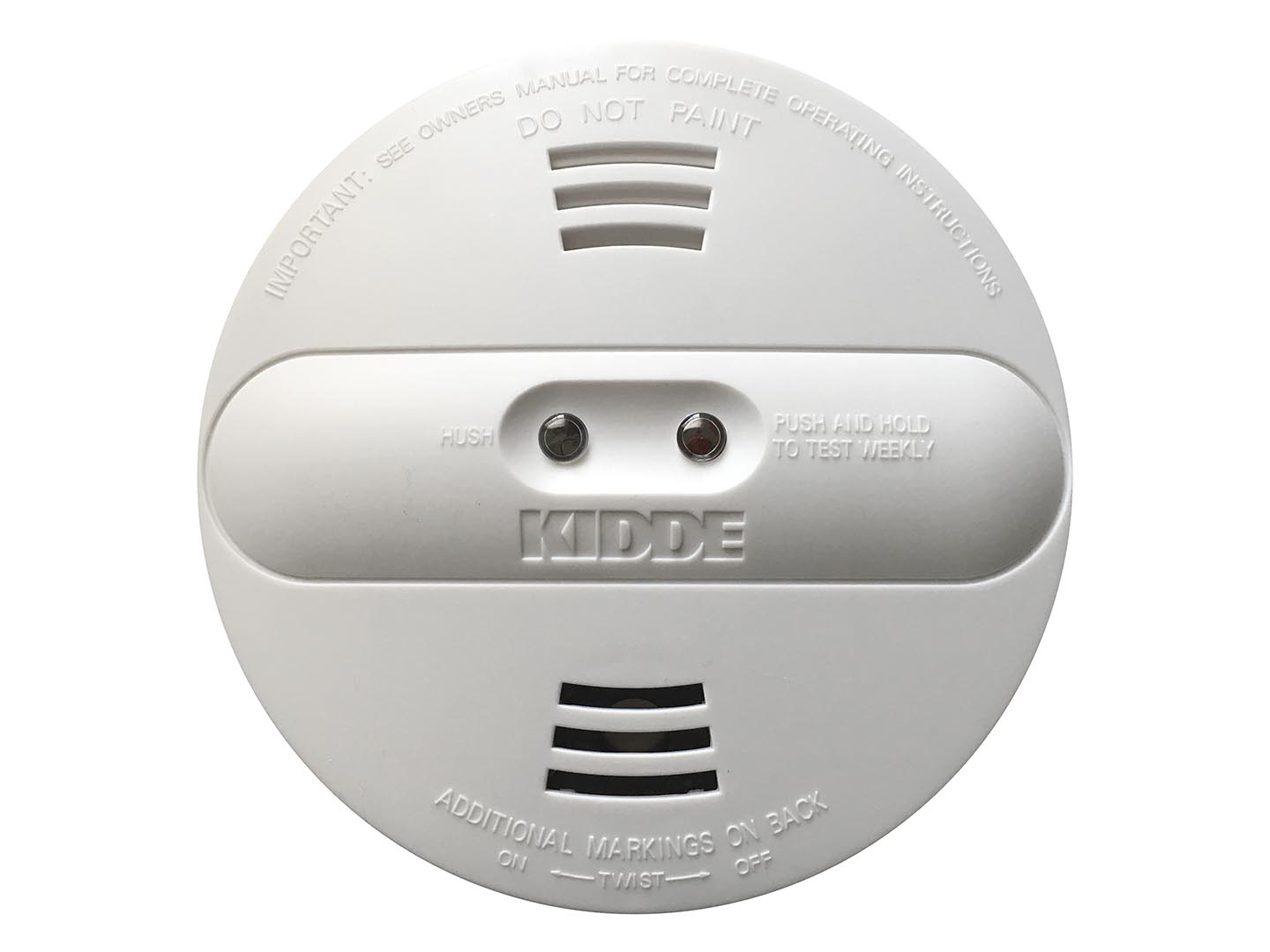 Kidde dual-sensor (photoelectric and ionization) smoke alarms – models PI2010 and PI9010
