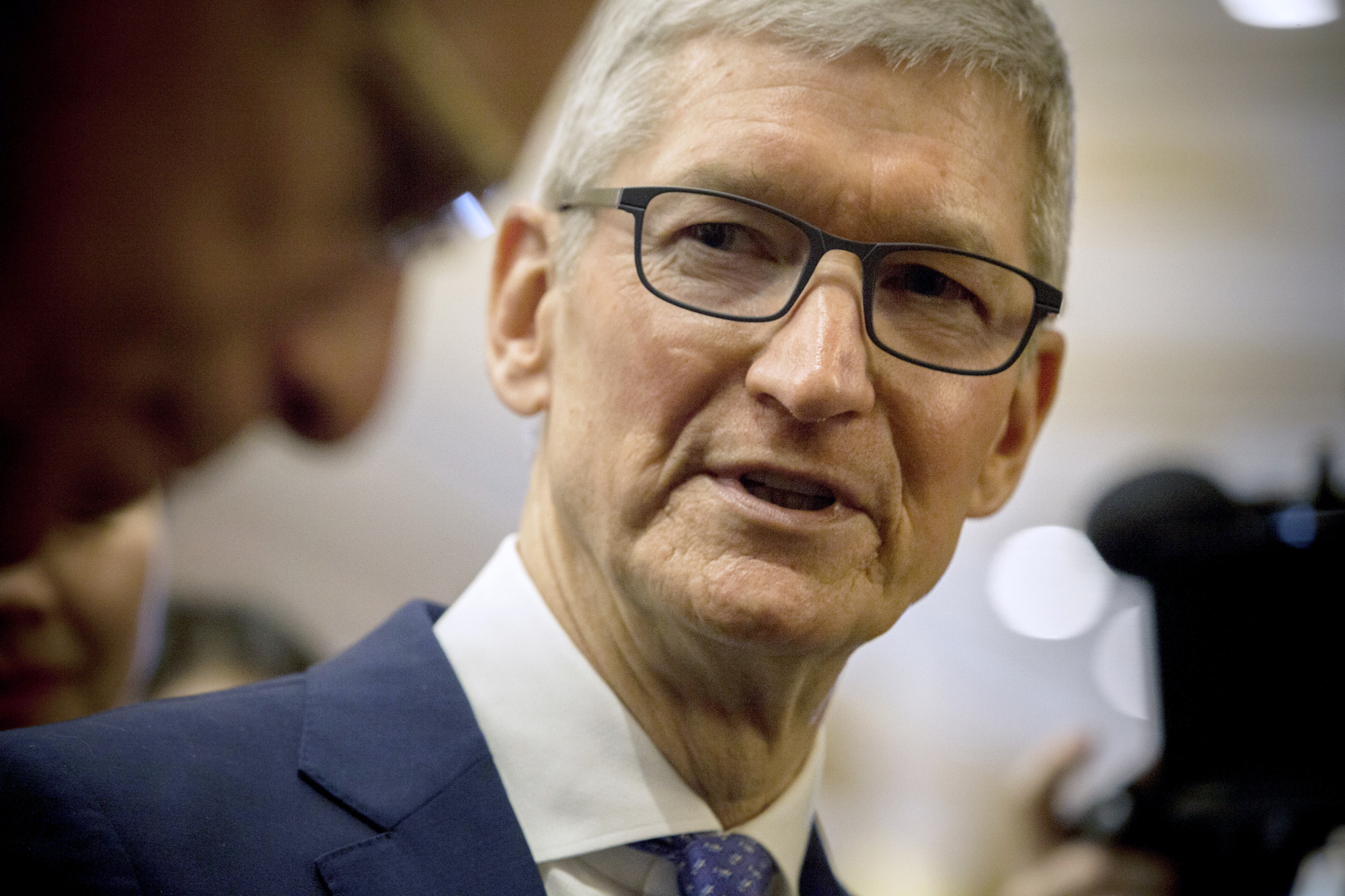 Apple Inc. CEO Tim Cook Arrives At The China Development Forum