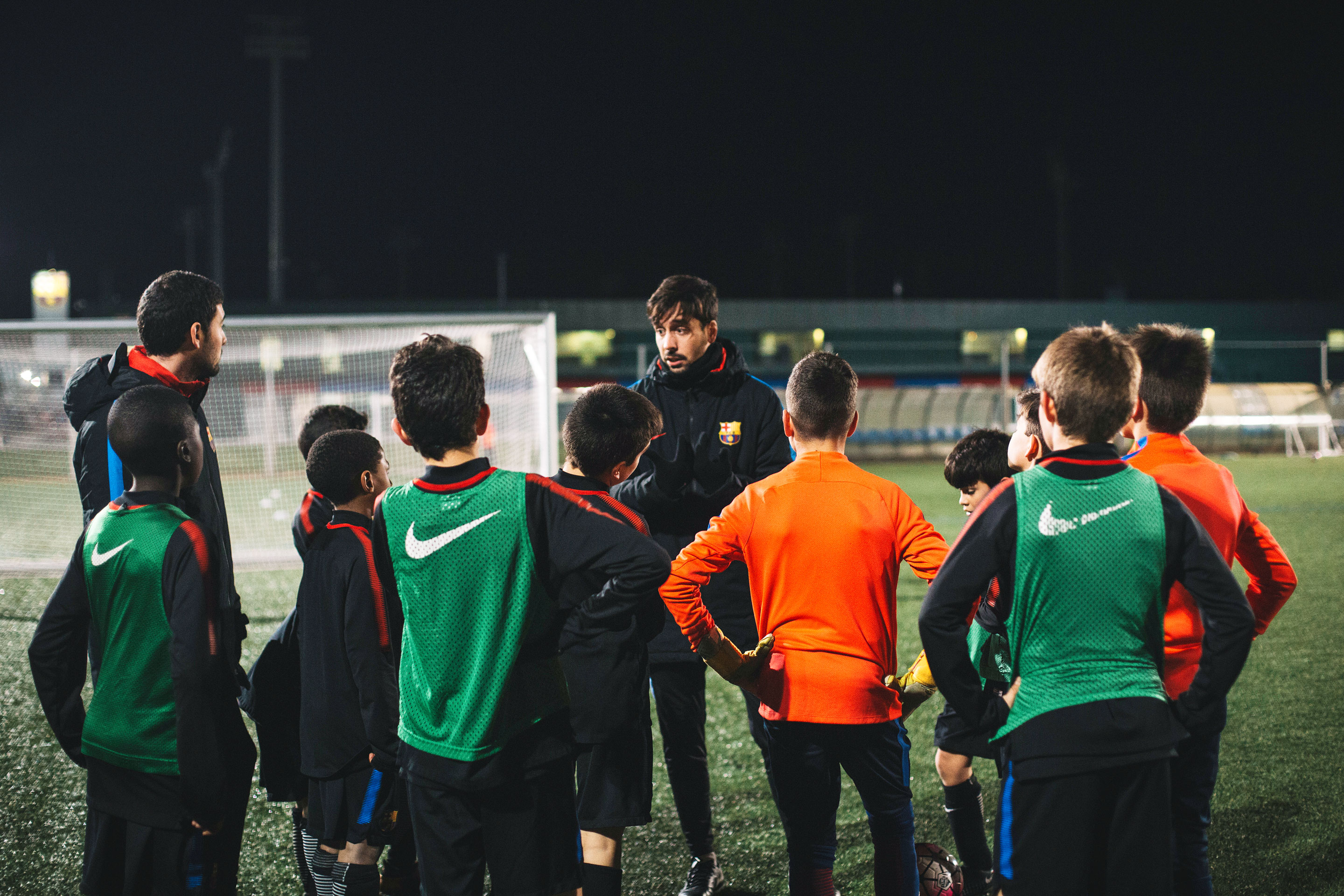 91d1a7a5b Aspiring football stars at La Masia, FC Barcelona's famed training  academy.Photograph by Javier Luengo for Fortune