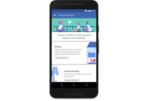 Facebook's New Privacy Shortcuts