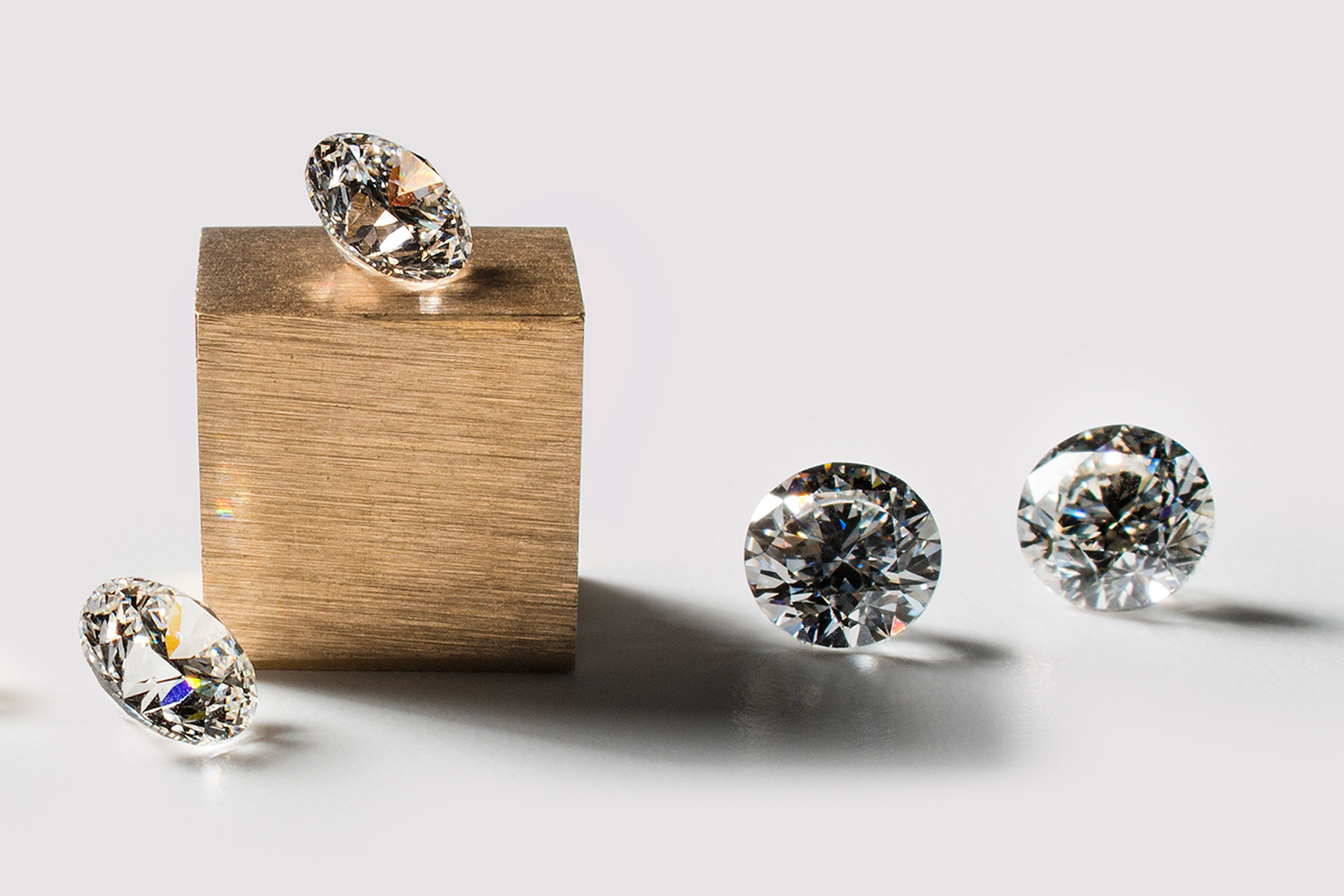 The Diamond Foundry diamonds which tend to sell for less than mined varieties.