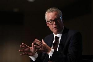 Delta CEO Ed Bastian Speaks At Detroit Economic Club