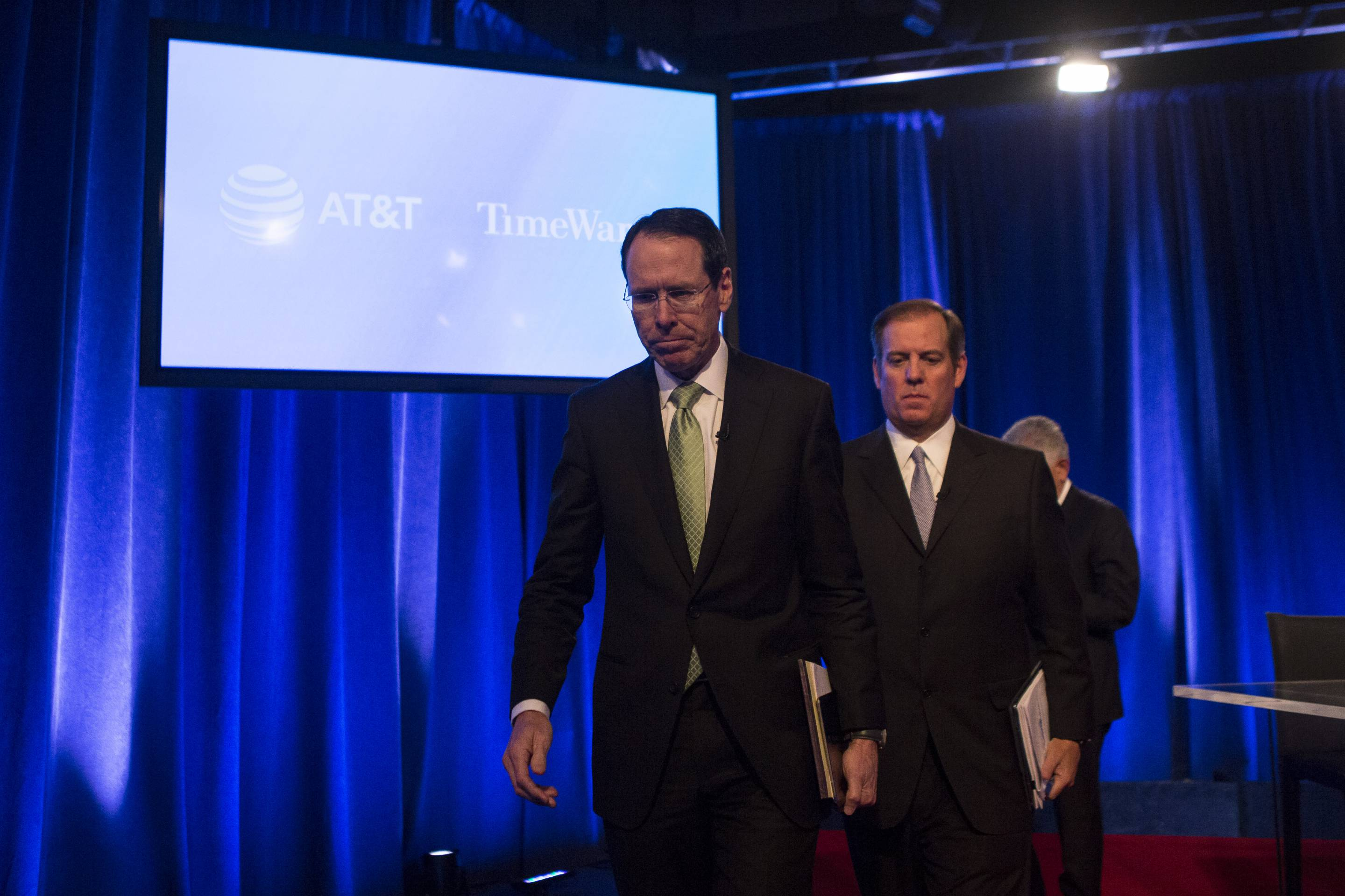 AT&T CEO Randall Stephenson Discusses Justice Dept. Lawsuit Over Company's Time Warner Merger