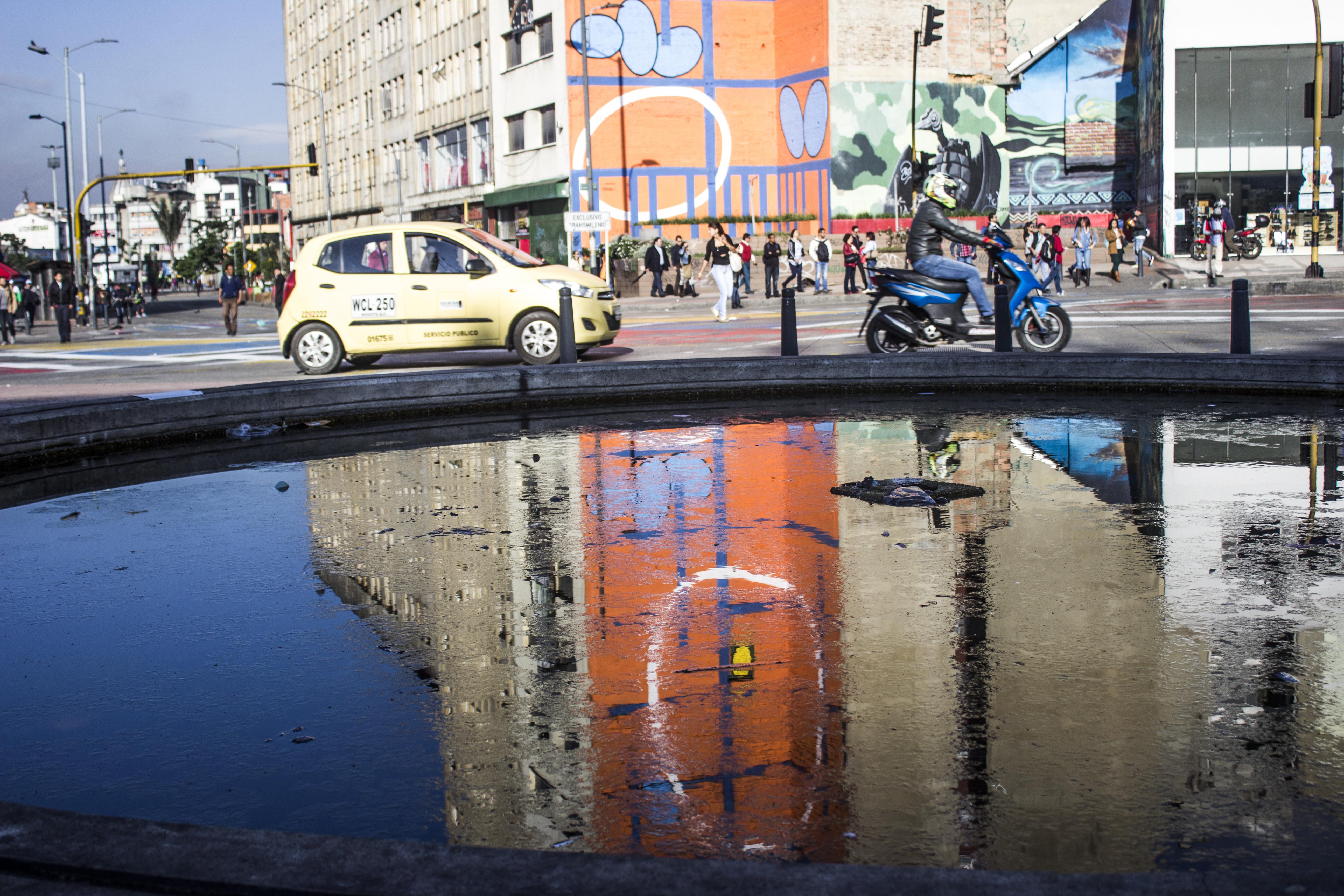 A sunny day in Bogota