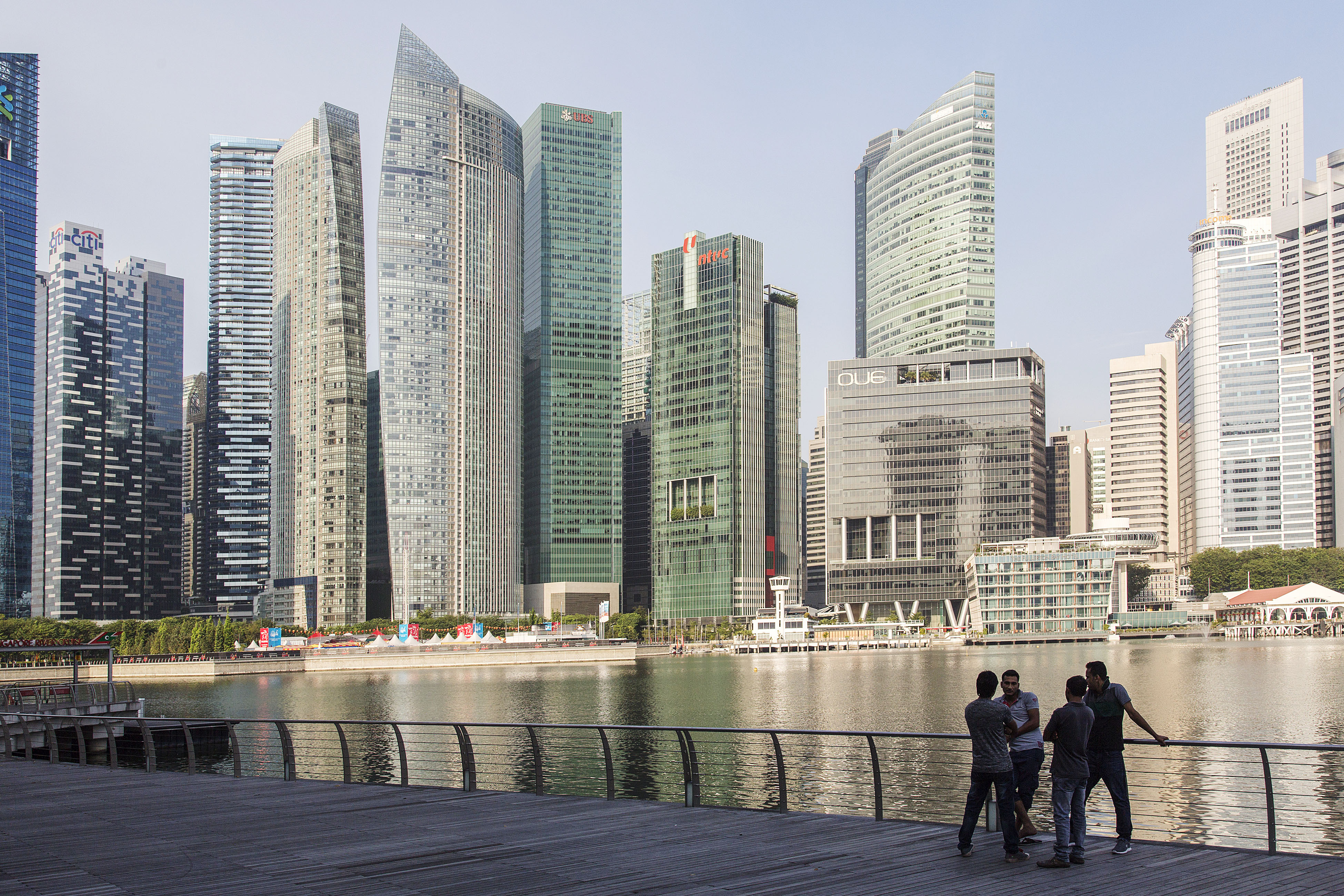 City Views of Singapore Ahead of Finance Minister Heng Swee Keat's Budget Speech