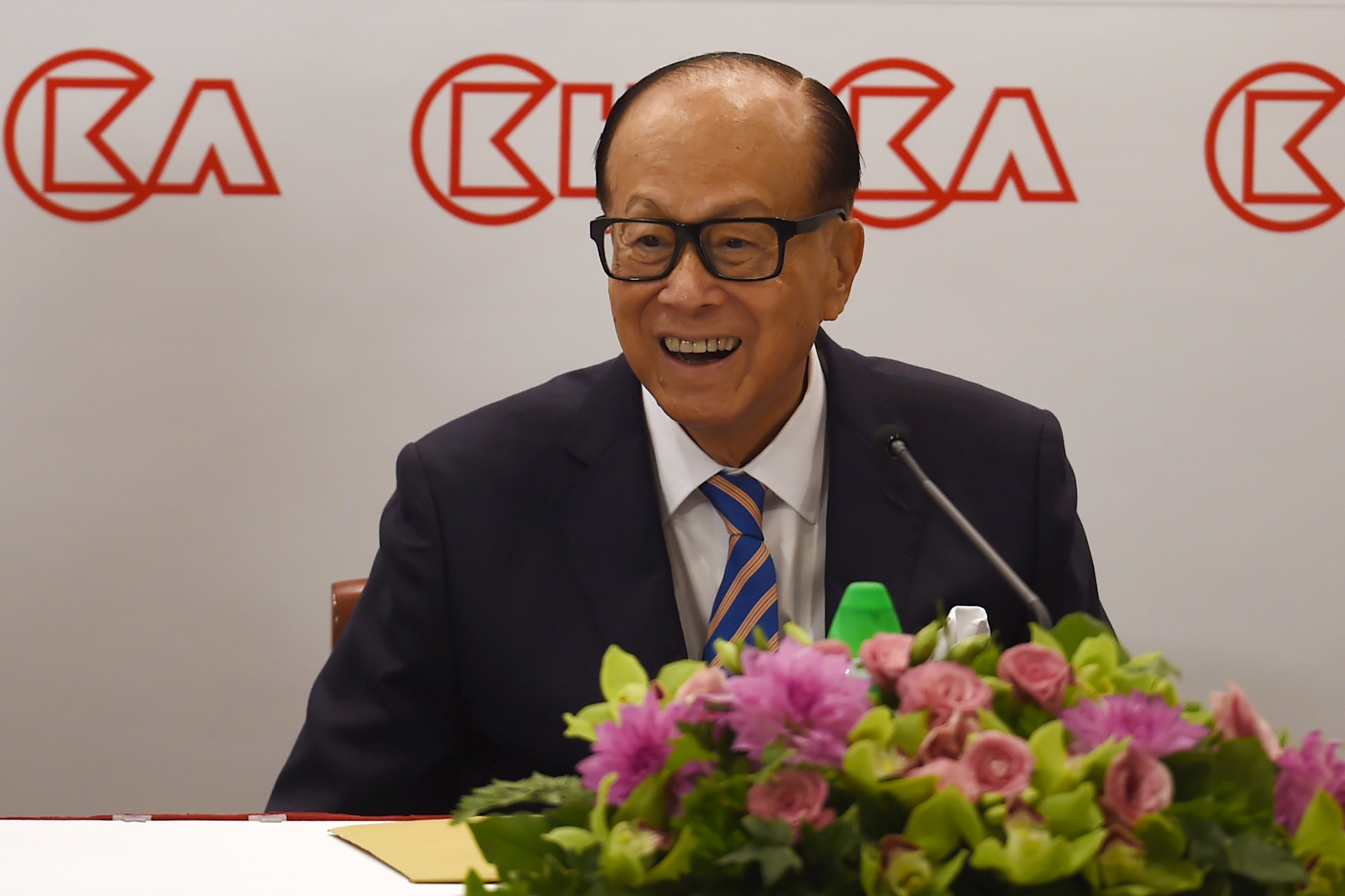 HONG KONG-ECONOMY-BUSINESS-HUTCHISON-POLITICS-CKI