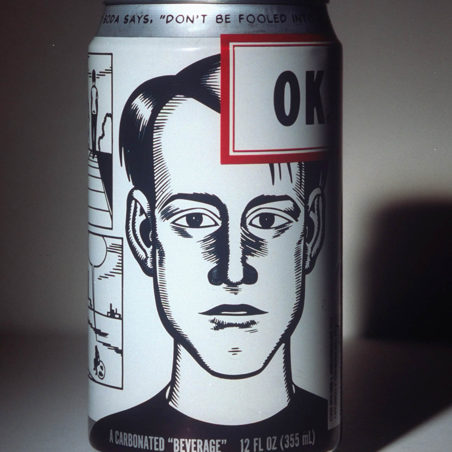 Coca-Cola's new OK soda, being test mark