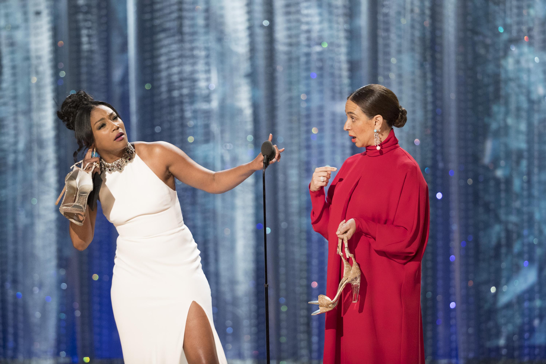 Tiffany-Haddish-White-Dress-Oscars