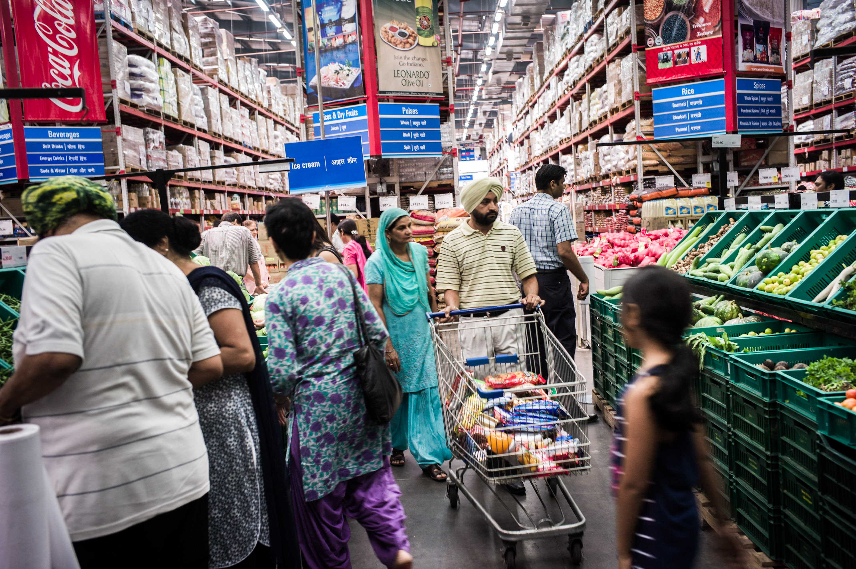 Inside Bharti Walmart's Best Price Modern Wholesale Store As India Eases Rules on Foreign Retailers