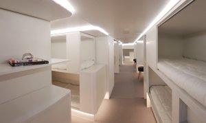 Airbus and Zodiac's sleeper module.