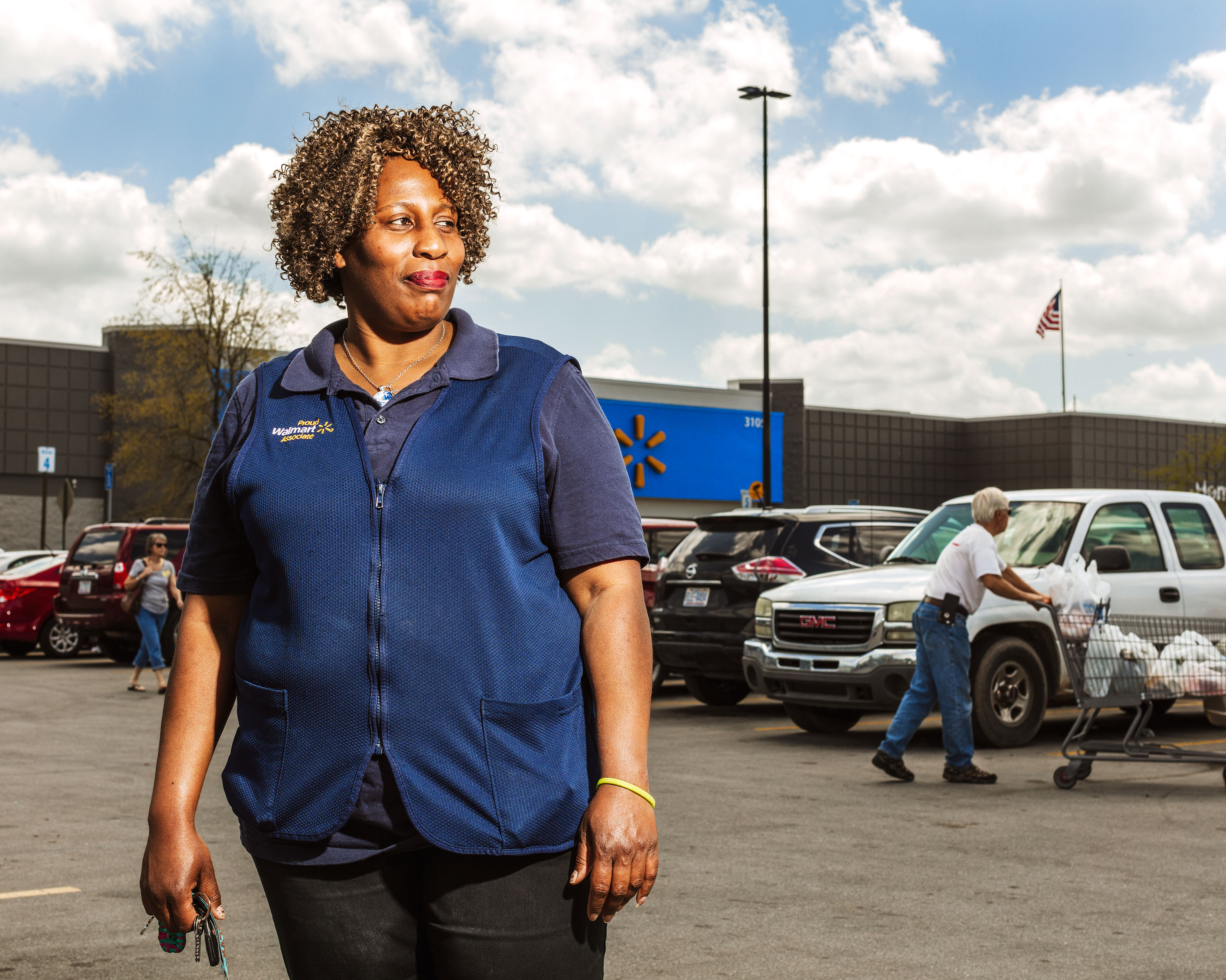 "At last year's Walmart shareholders' meeting, store worker ­Carolyn ""Cat"" Davis delivered a plea for better paid leave­—and a petition signed by more than 100,000 employees."