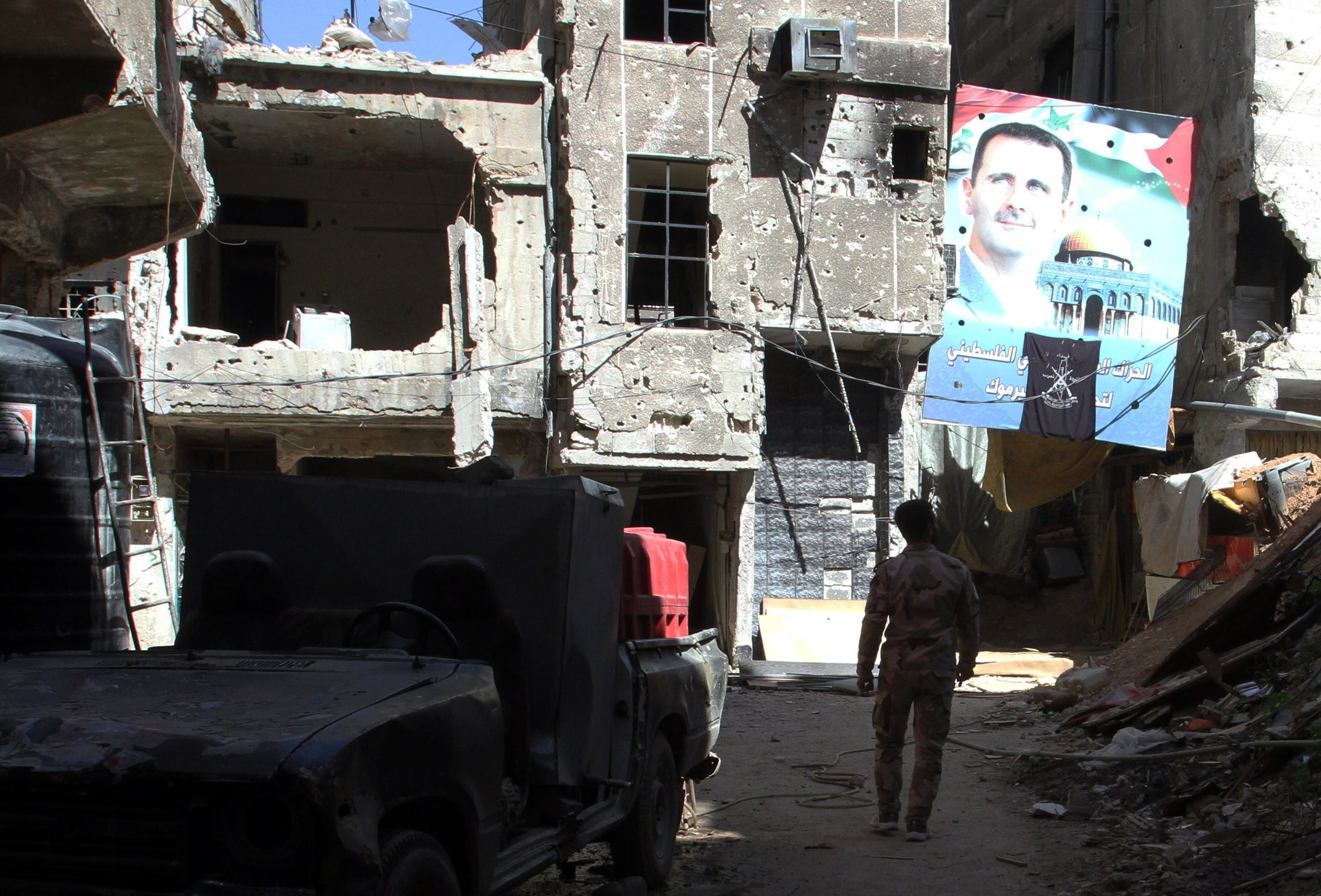 SYRIA-CONFLICT-YARMUK