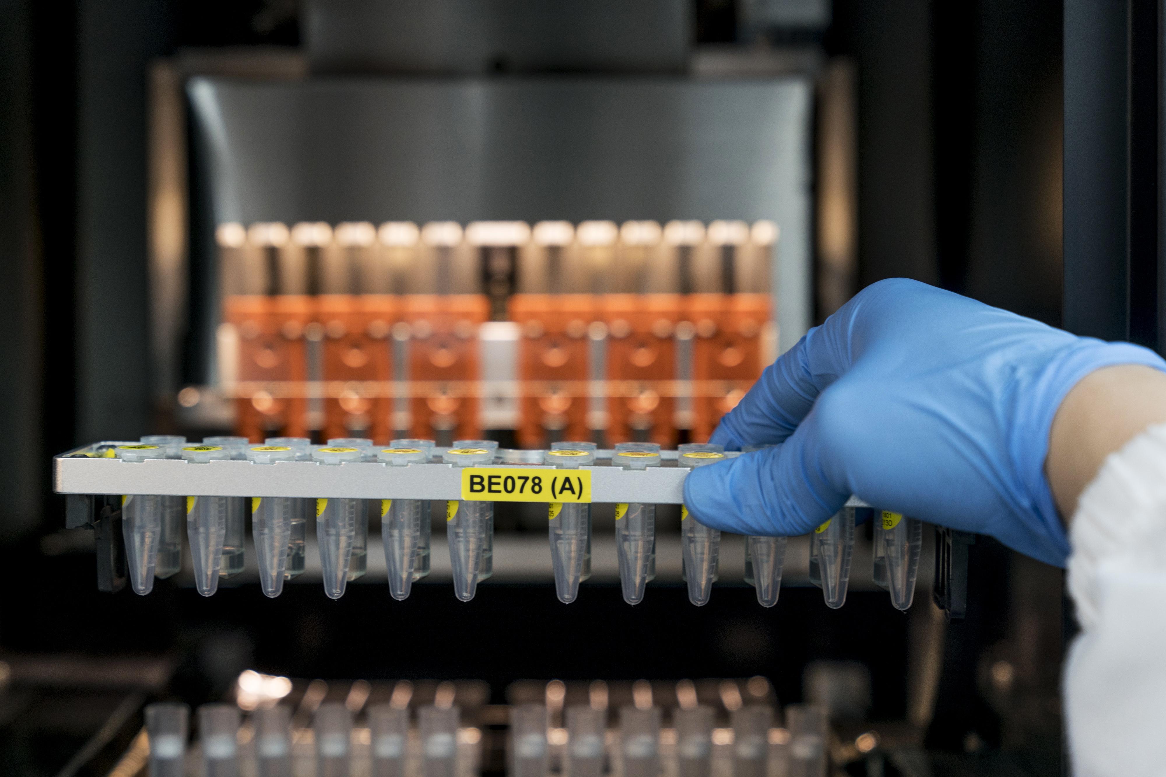 Inside Prenetics DNA Testing Lab