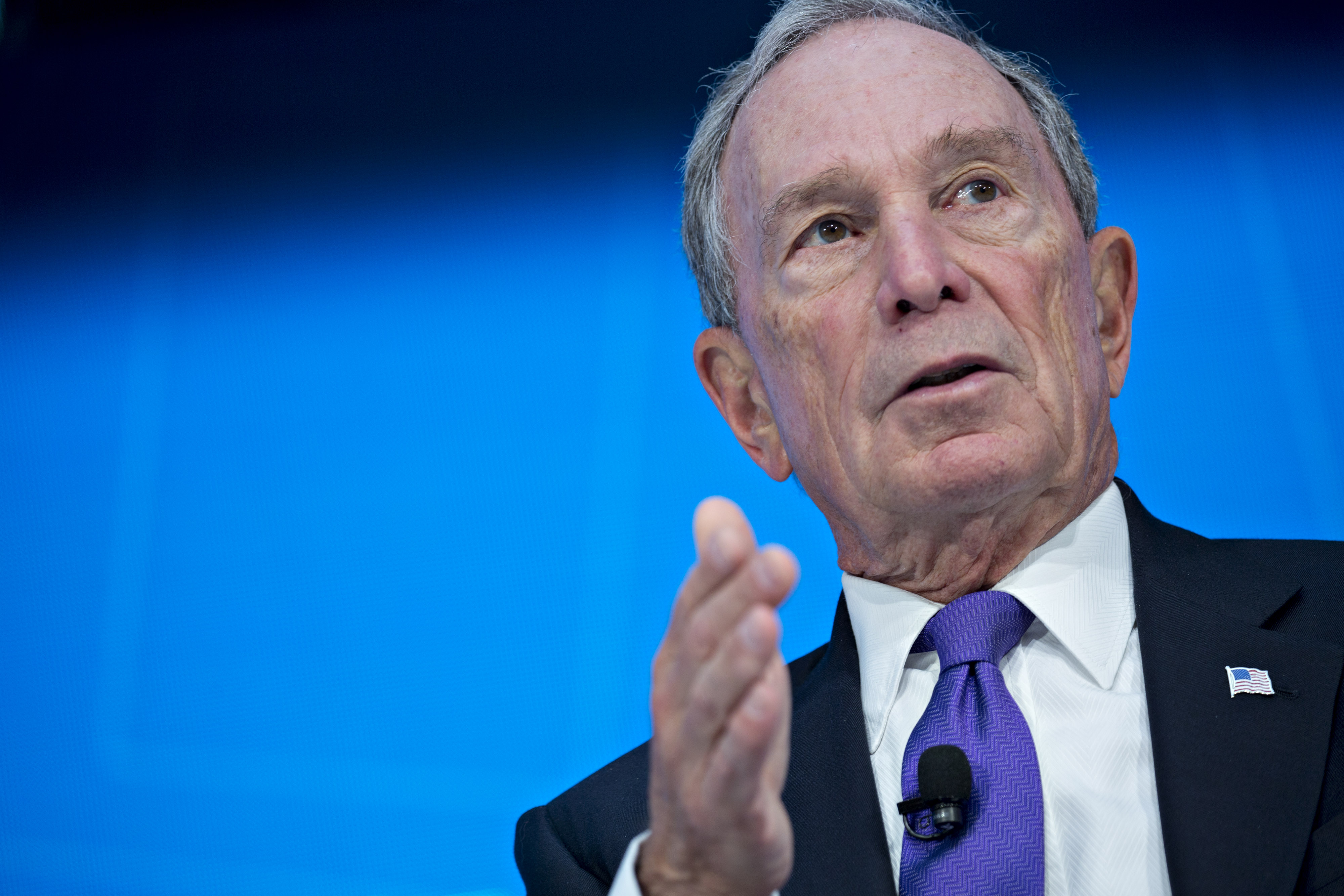 Michael Bloomberg committed $4.5M to the Paris Climate Agreement