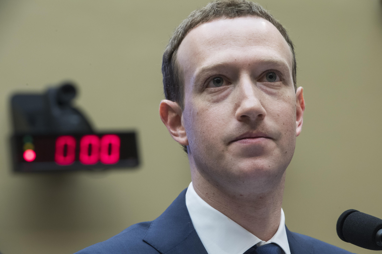 Facebook CEO Mark Zuckerberg looks tired