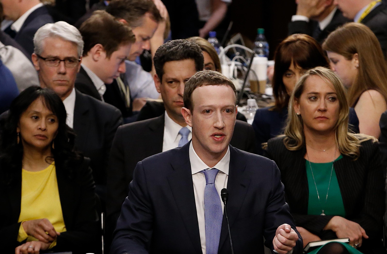 Facebook stock rises on mark zuckerberg testimony cambridge analytica