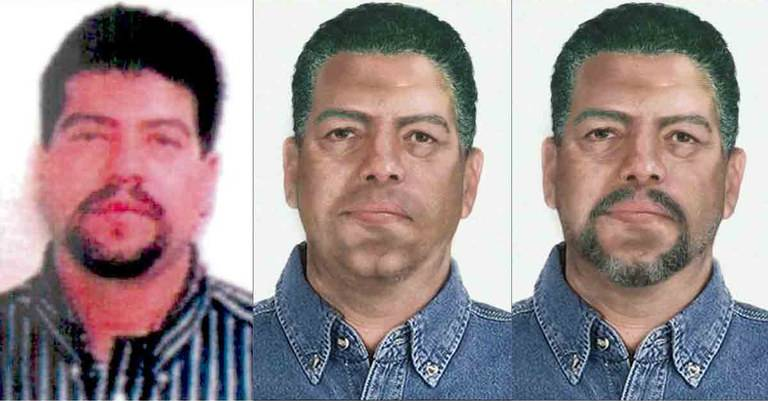 Age progression of Mauro Ociel Valenzuela-Reyes. Courtesy of FBI.