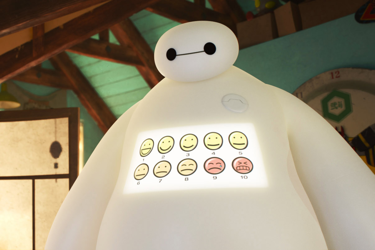 Baymax from Big Hero 6, 2014.